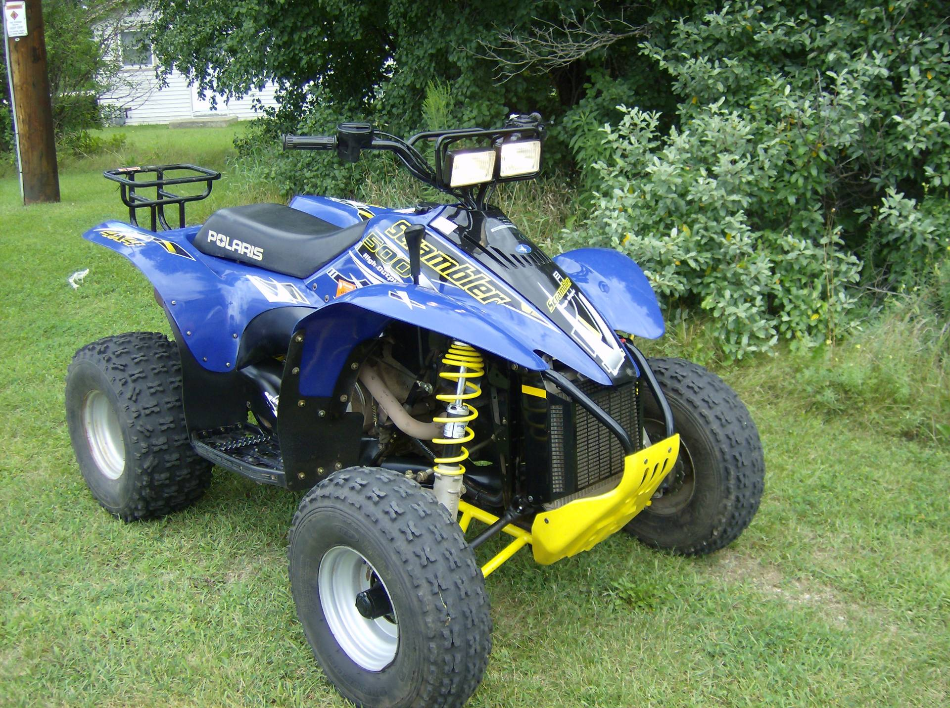 2003 Polaris Scrambler 500 4x4 in Mukwonago, Wisconsin