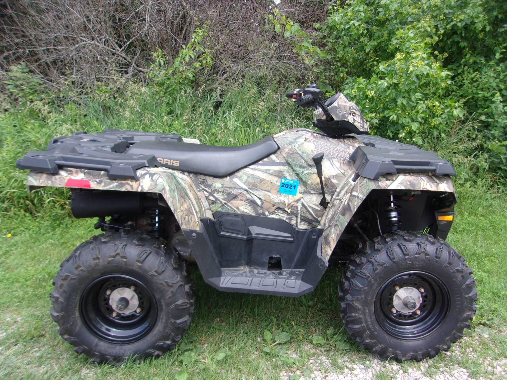 2015 Polaris Sportsman® 570 in Mukwonago, Wisconsin