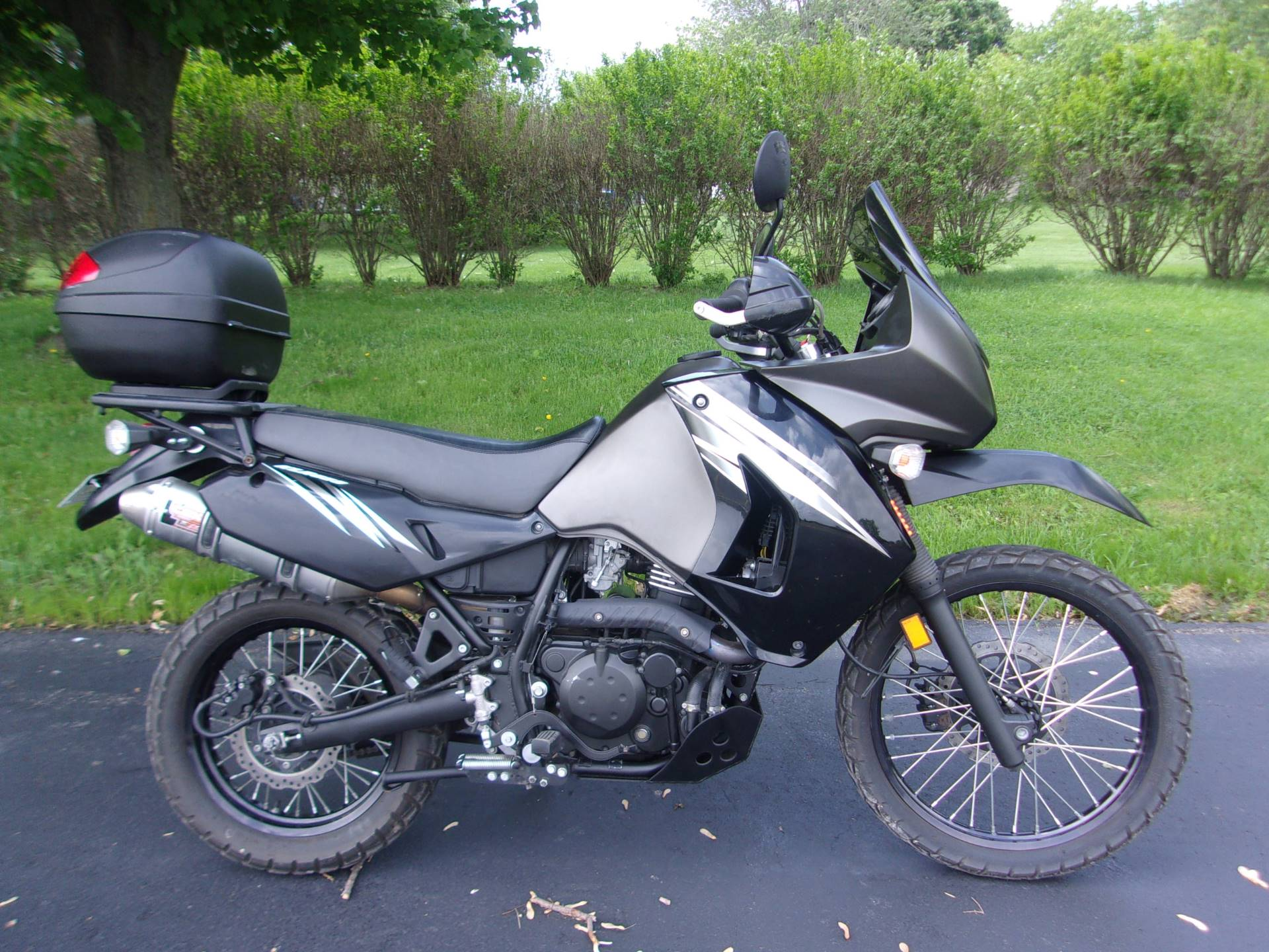2012 Kawasaki KLR™650 in Mukwonago, Wisconsin - Photo 1