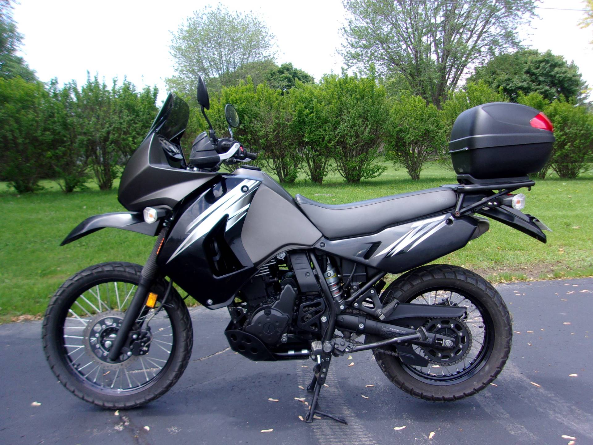 2012 Kawasaki KLR™650 in Mukwonago, Wisconsin - Photo 4