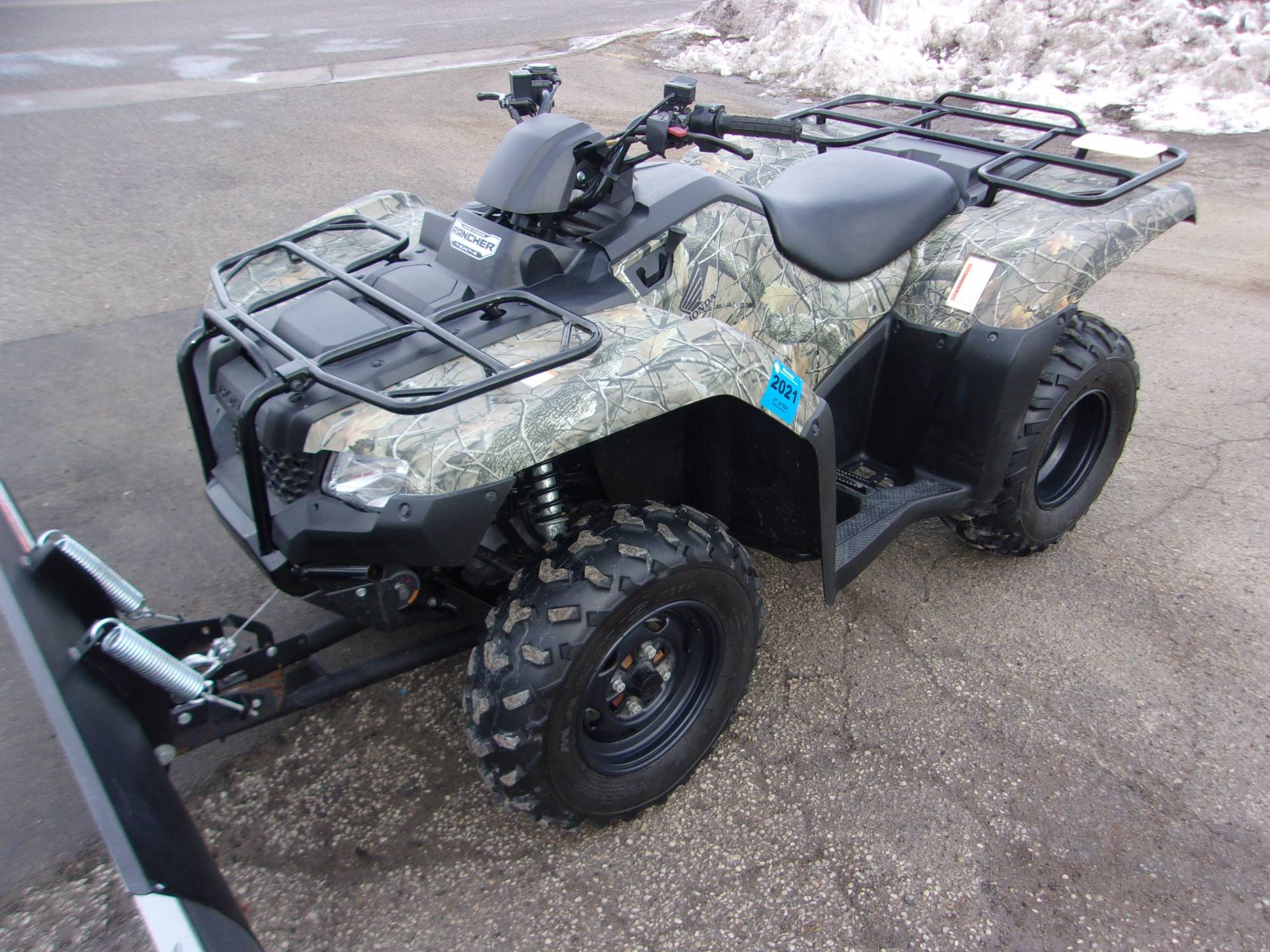 2015 Honda FourTrax® Rancher® 4x4 EPS in Mukwonago, Wisconsin - Photo 3