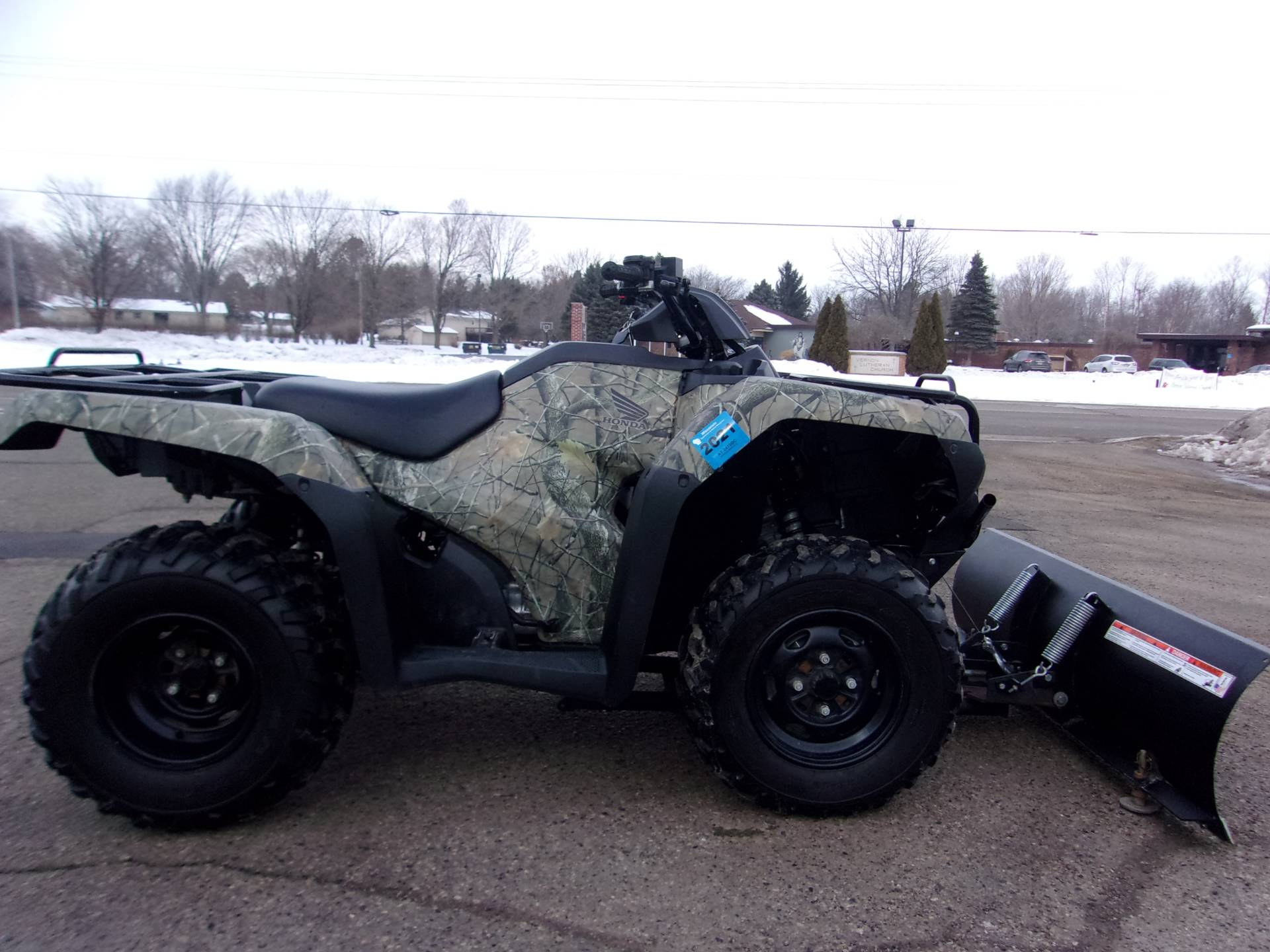 2015 Honda FourTrax® Rancher® 4x4 EPS in Mukwonago, Wisconsin - Photo 7