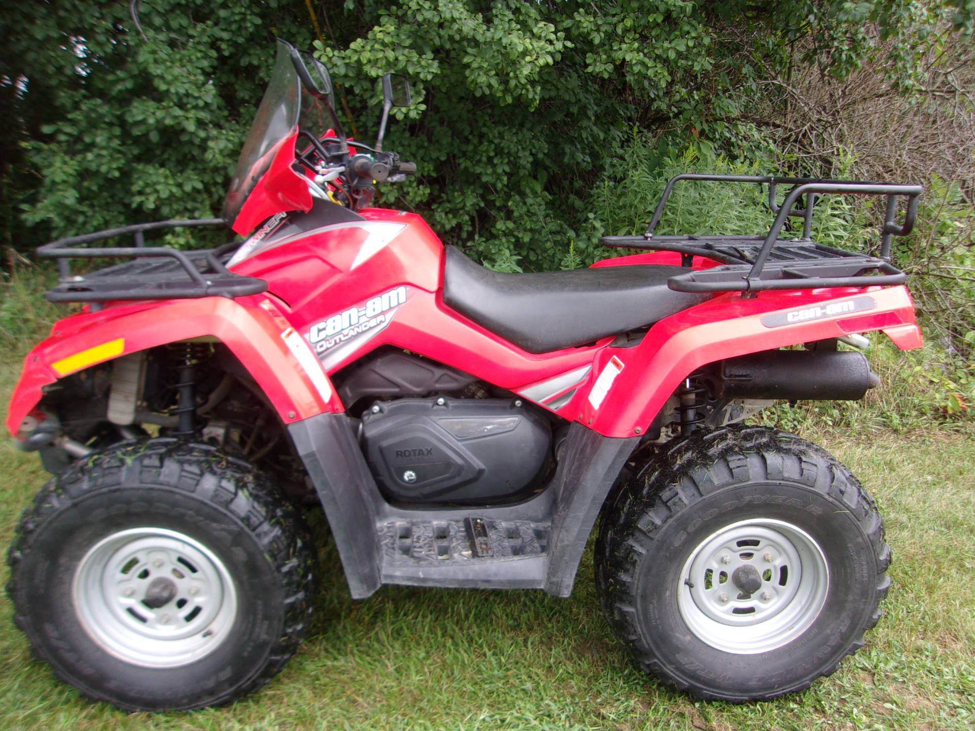 2007 Can-Am Outlander™ 650 H.O. EFI in Mukwonago, Wisconsin - Photo 3
