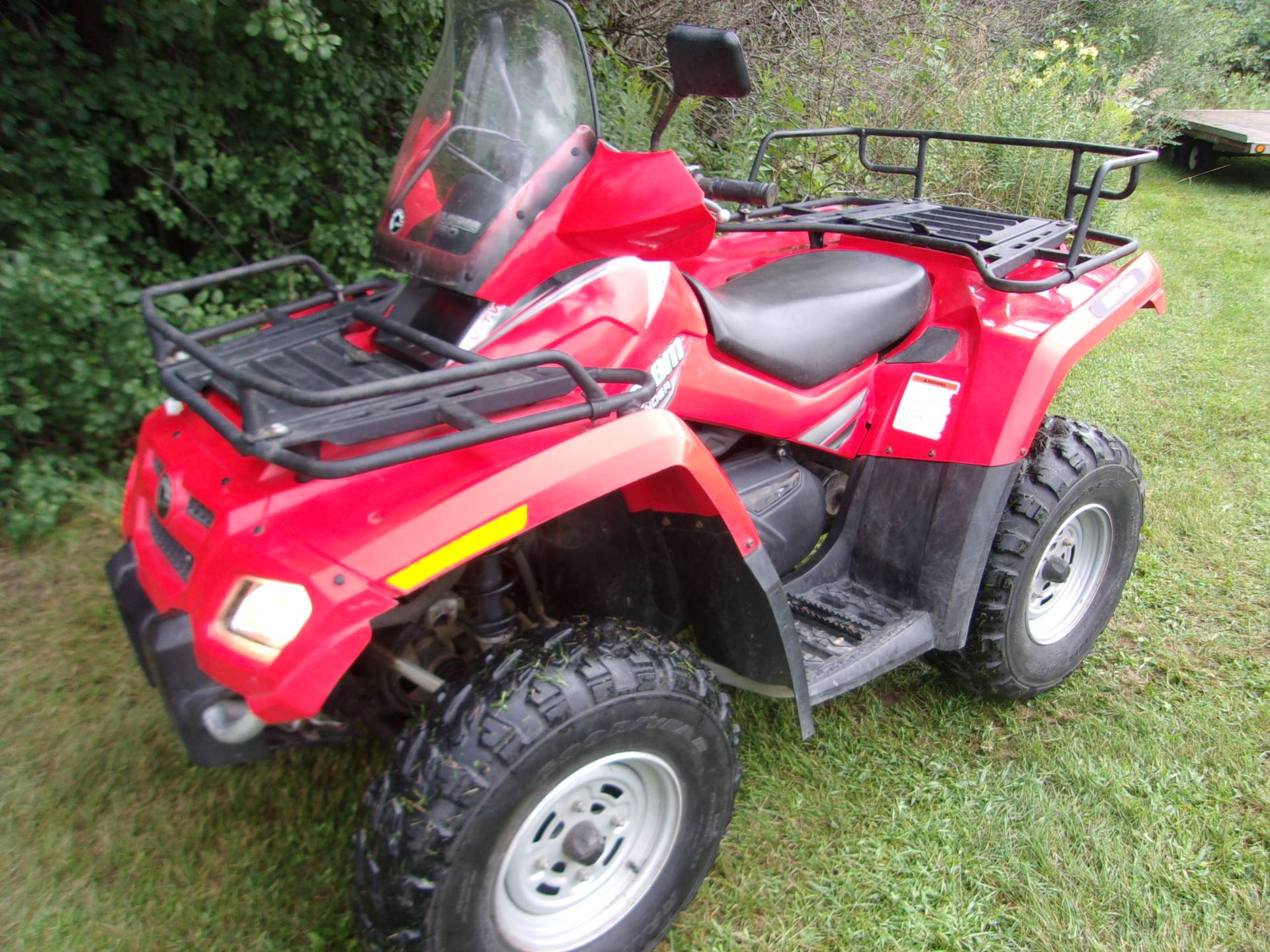 2007 Can-Am Outlander™ 650 H.O. EFI in Mukwonago, Wisconsin - Photo 4