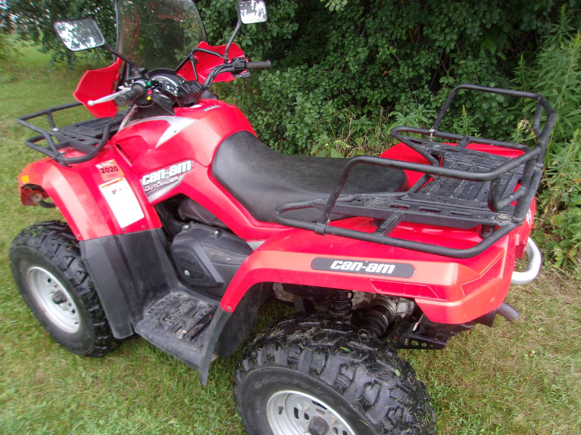 2007 Can-Am Outlander™ 650 H.O. EFI in Mukwonago, Wisconsin - Photo 5