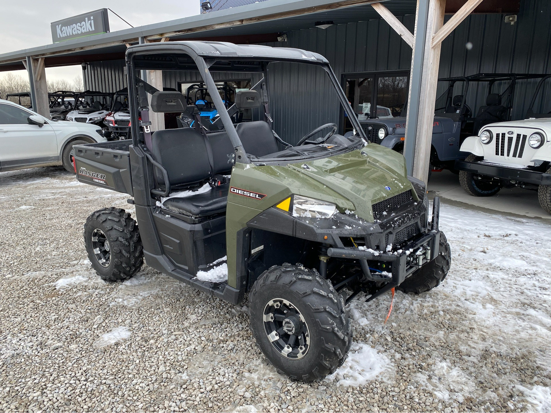 2015 Polaris Ranger® Diesel in Bolivar, Missouri - Photo 2