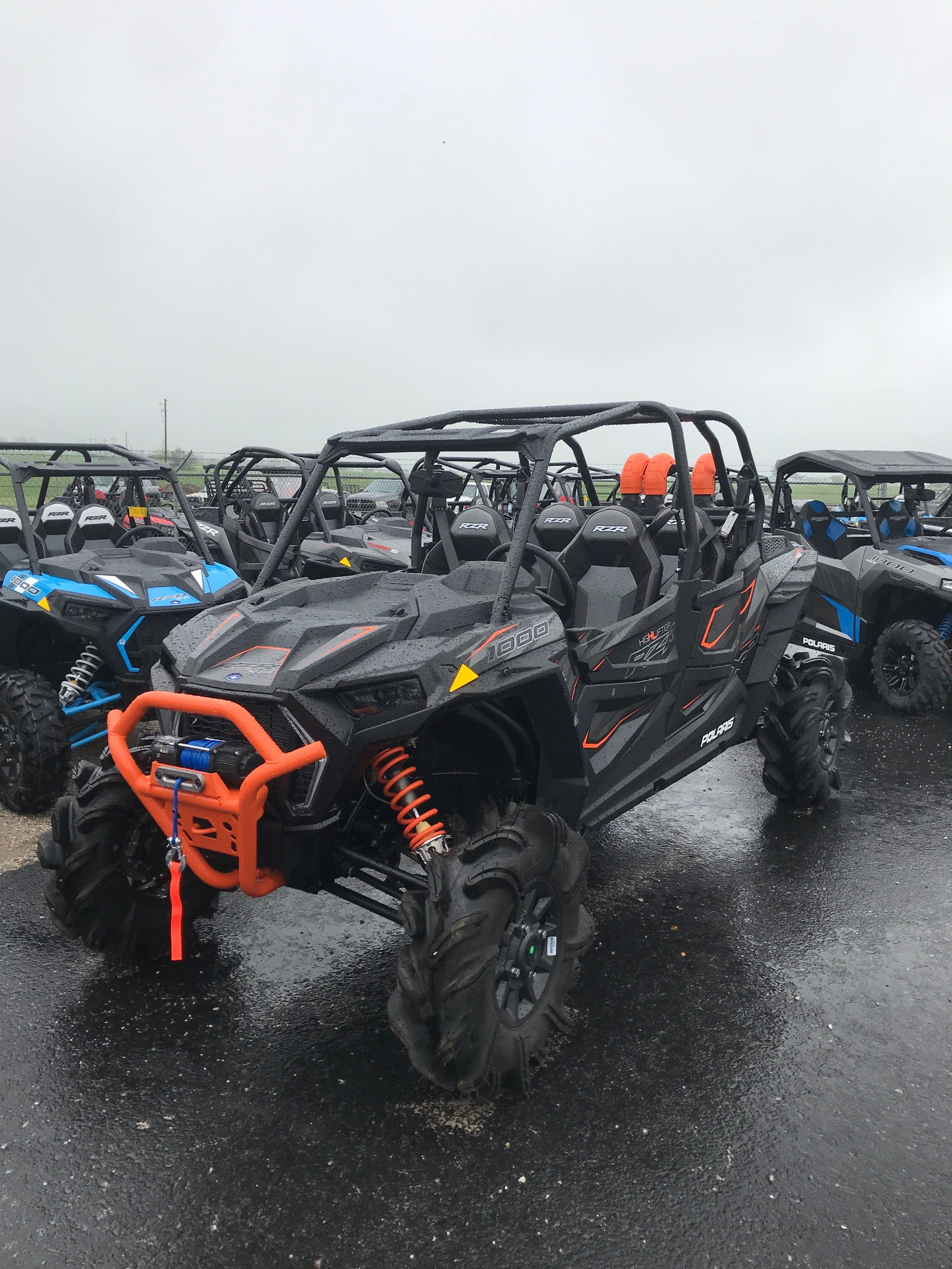 2019 Polaris RZR XP 4 1000 High Lifter in Bolivar, Missouri