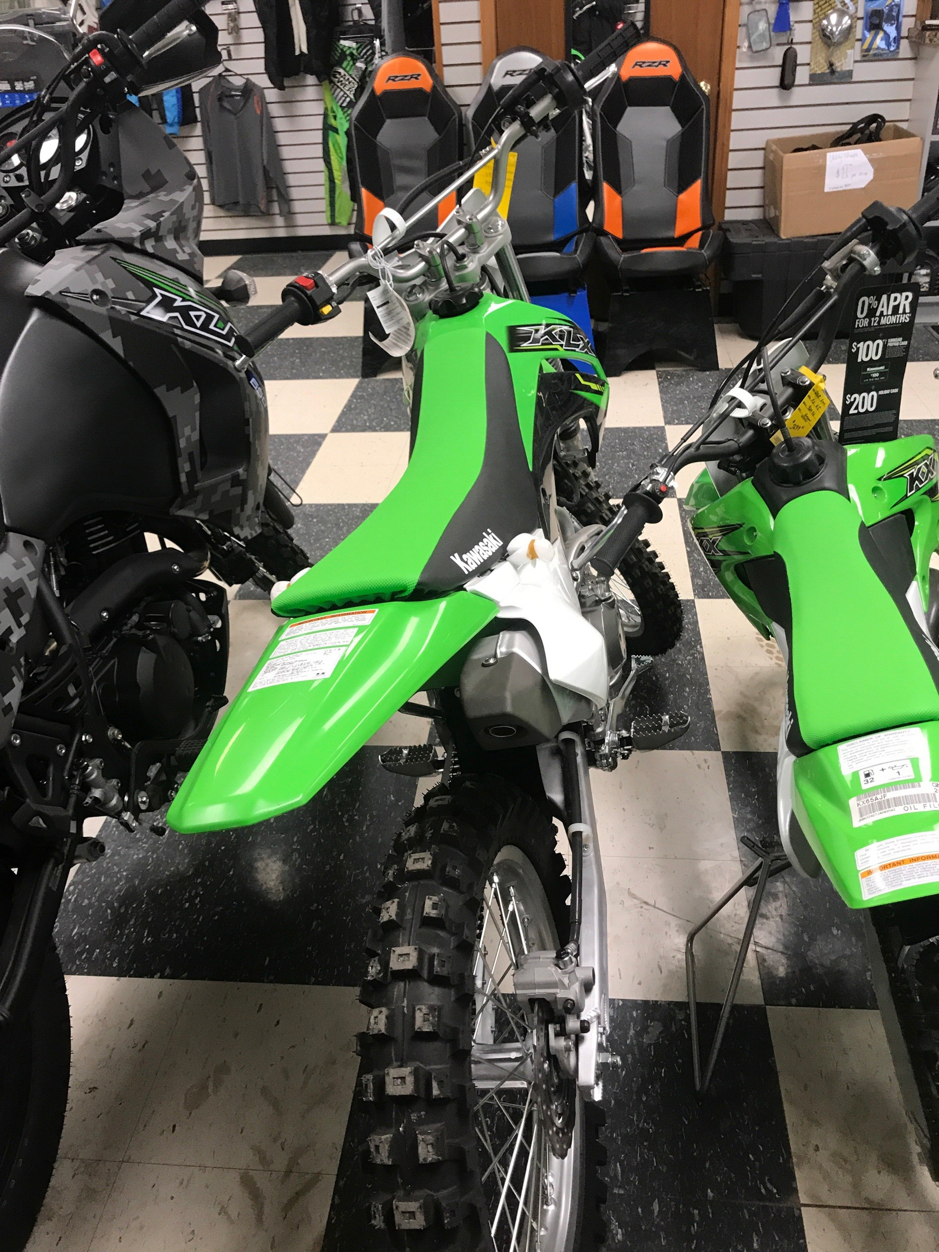 2019 Kawasaki KLX 140L in Bolivar, Missouri - Photo 3