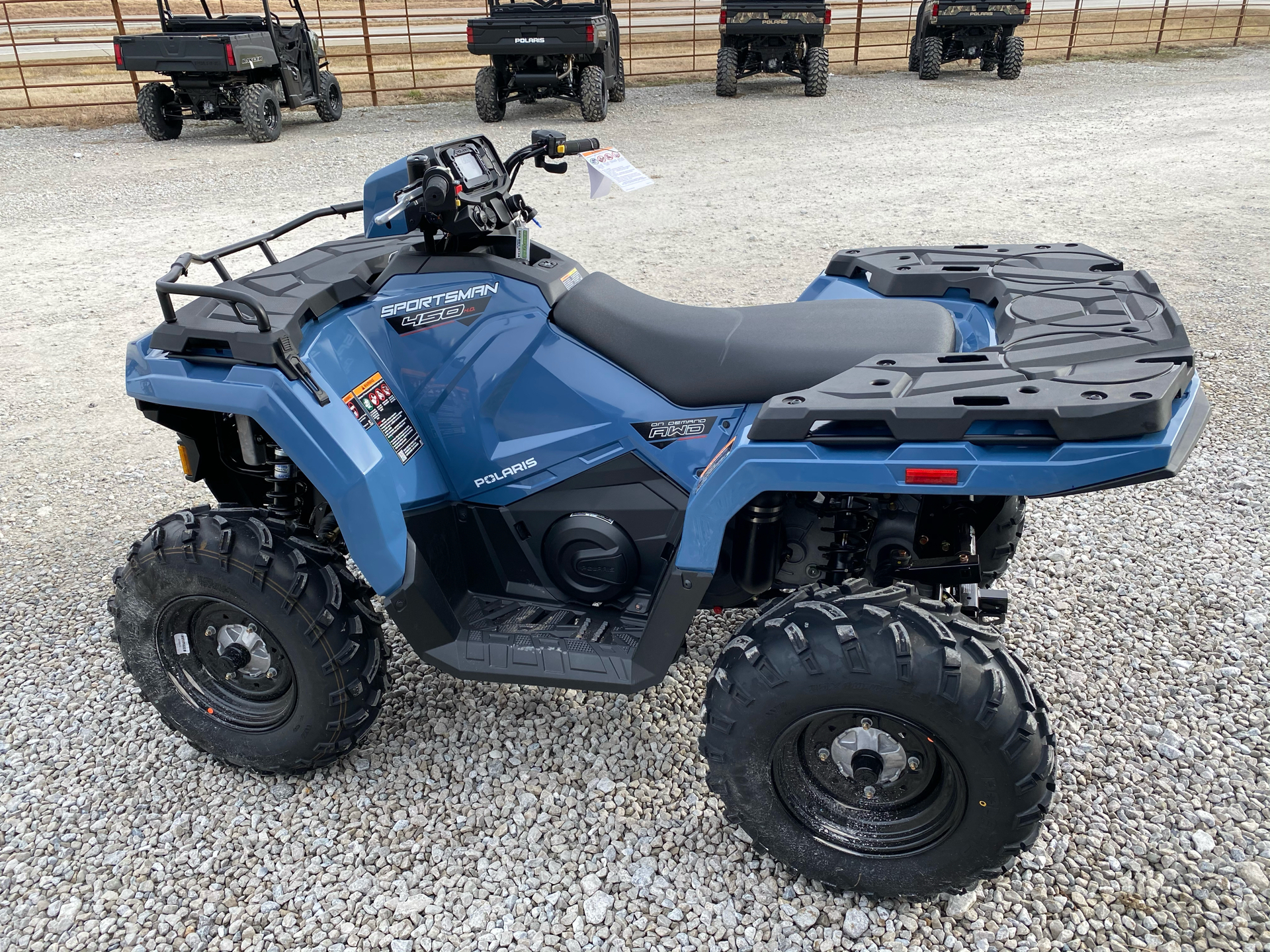 2021 Polaris Sportsman 450 H.O. in Bolivar, Missouri - Photo 7