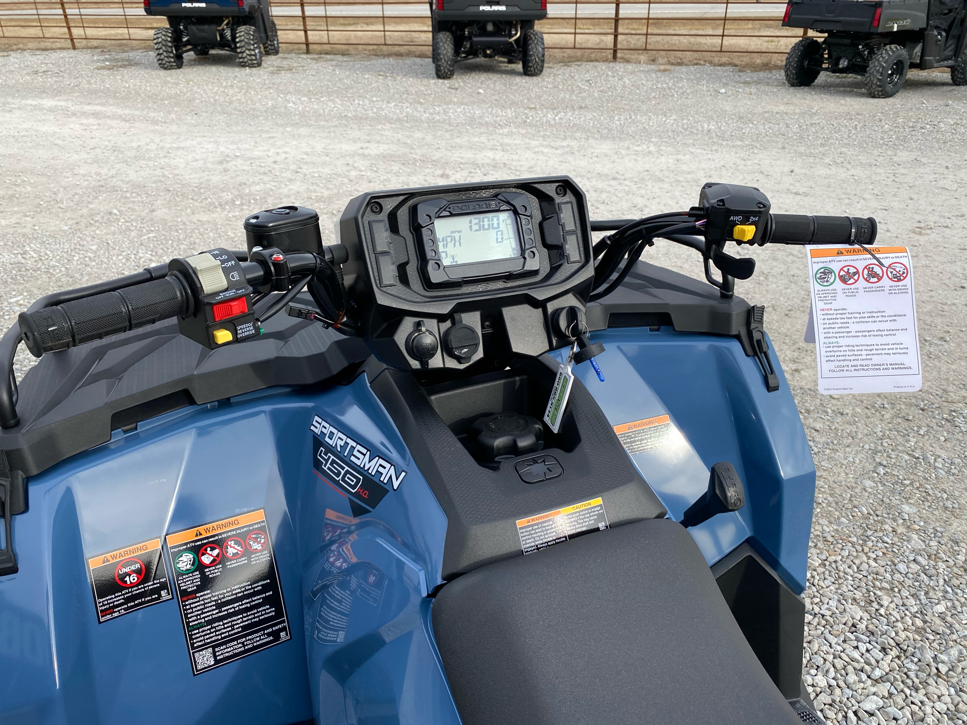 2021 Polaris Sportsman 450 H.O. in Bolivar, Missouri - Photo 10