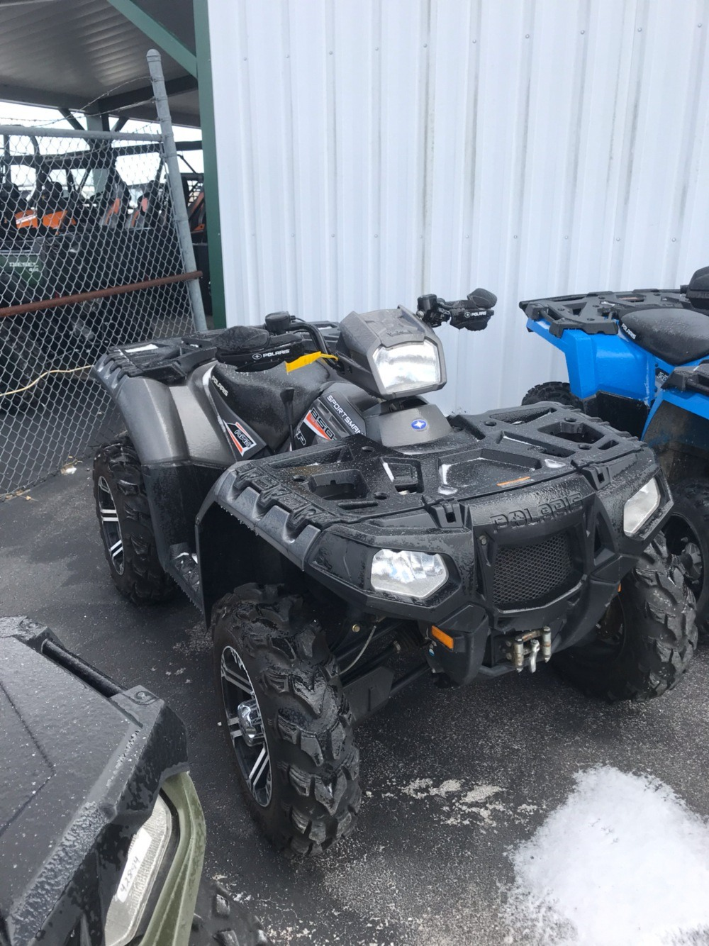 2015 Polaris Sportsman 850 SP 1