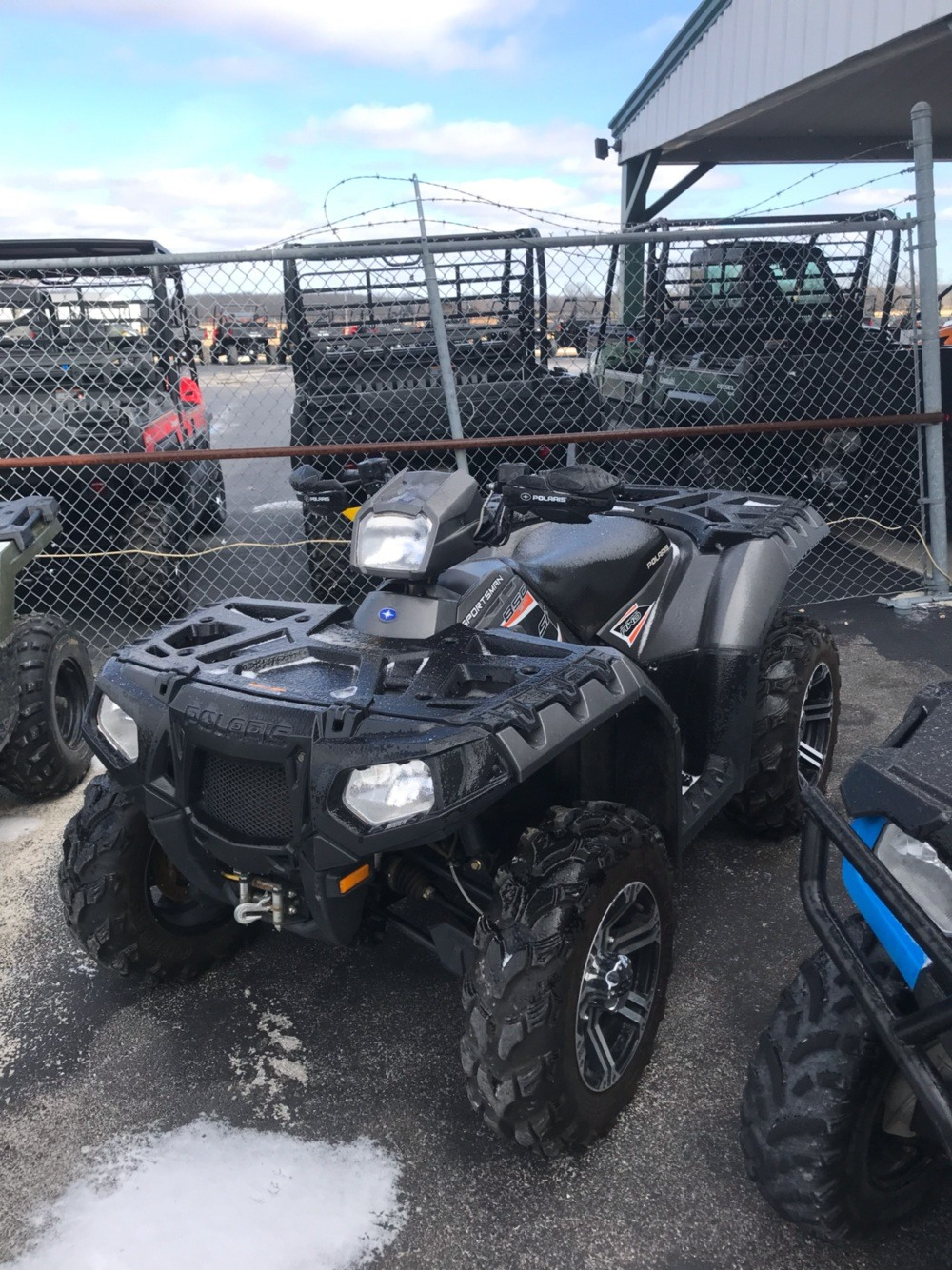 2015 Polaris Sportsman 850 SP 2