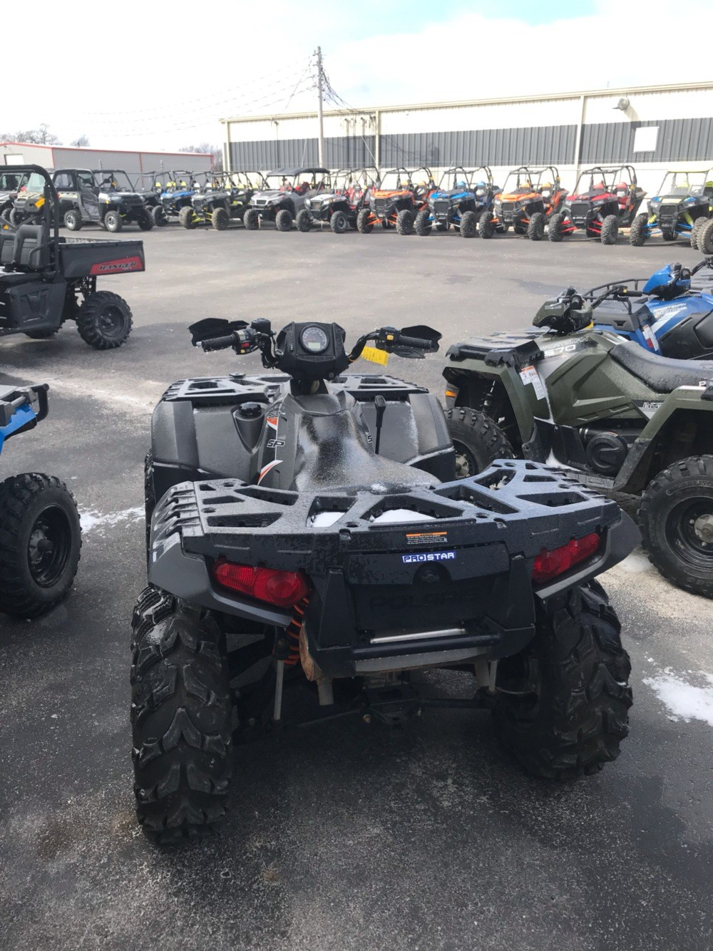 2015 Polaris Sportsman 850 SP 3