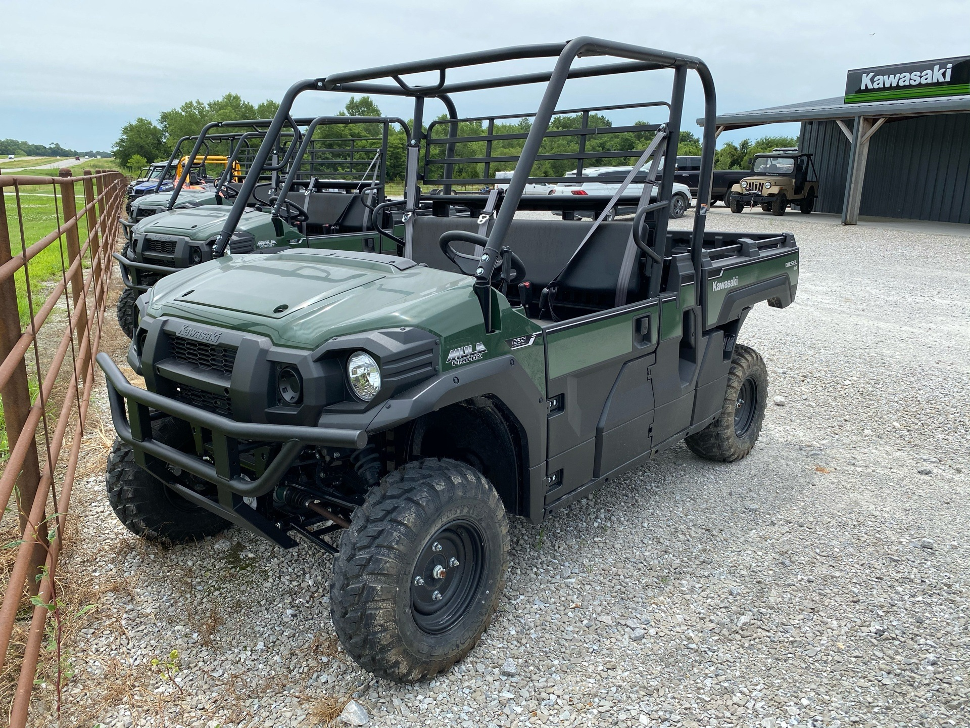 2018 Kawasaki Mule PRO-DX EPS Diesel in Bolivar, Missouri - Photo 1