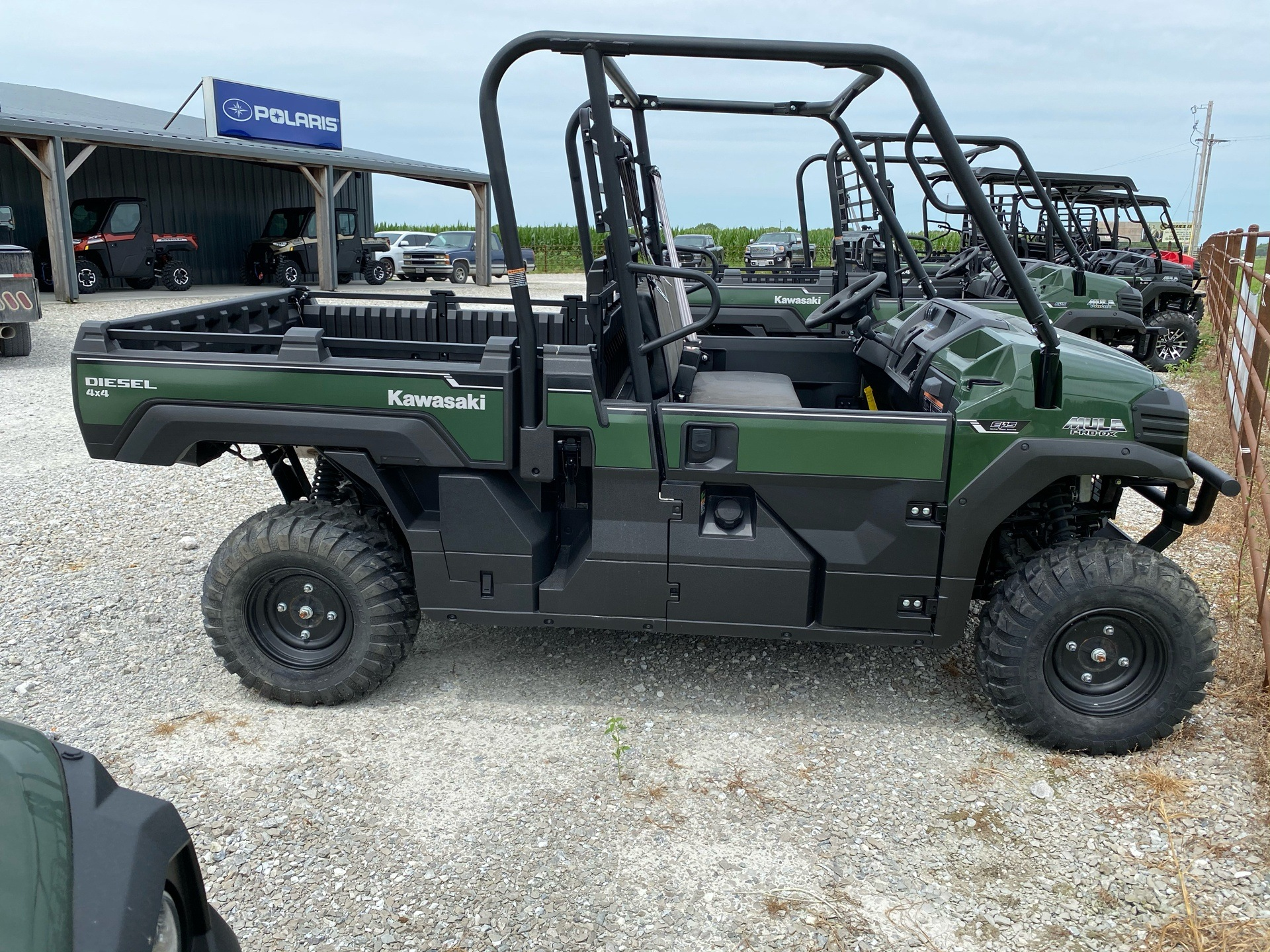 2018 Kawasaki Mule PRO-DX EPS Diesel in Bolivar, Missouri - Photo 4