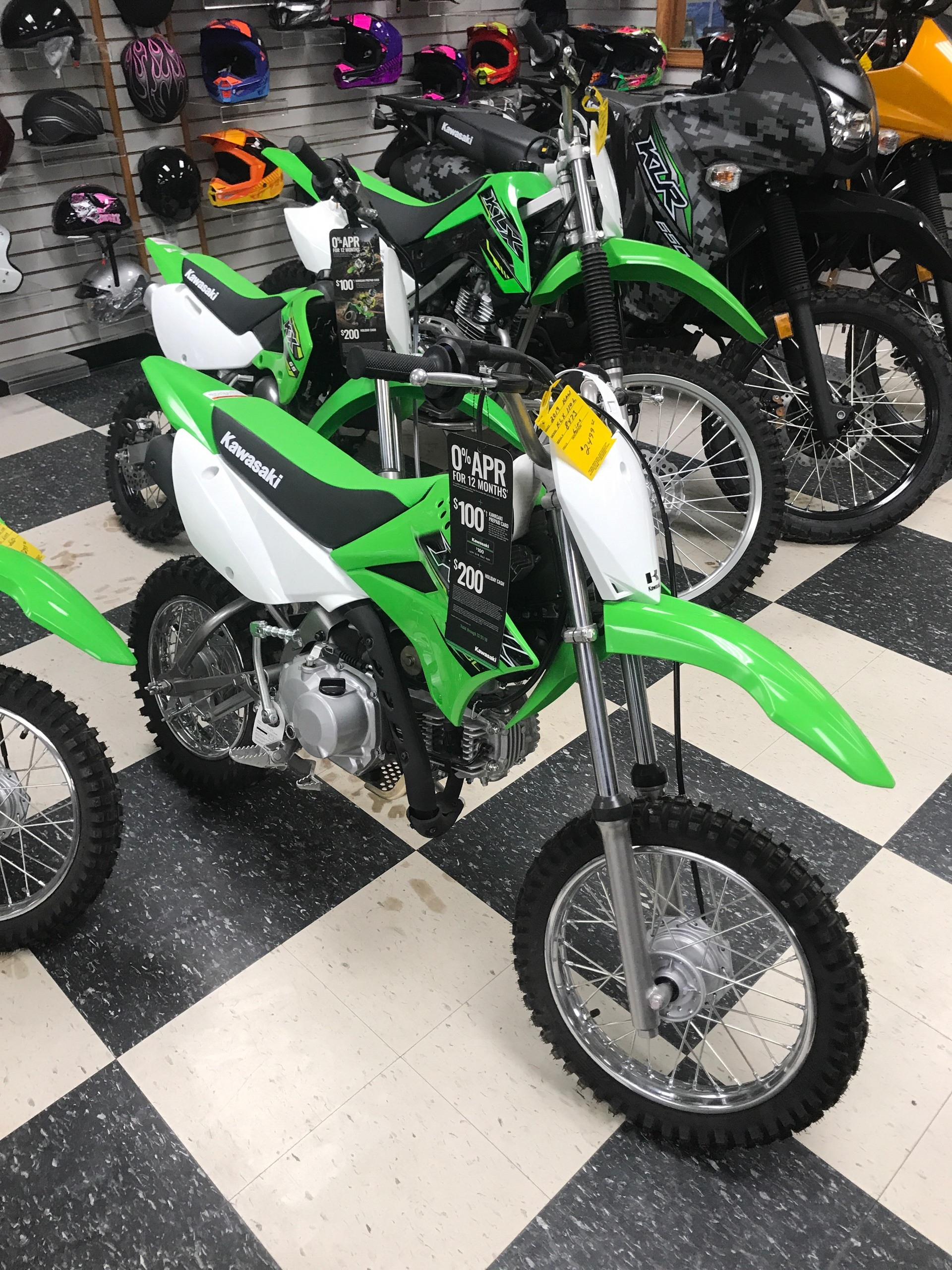 2019 Kawasaki KLX 110L for sale 697