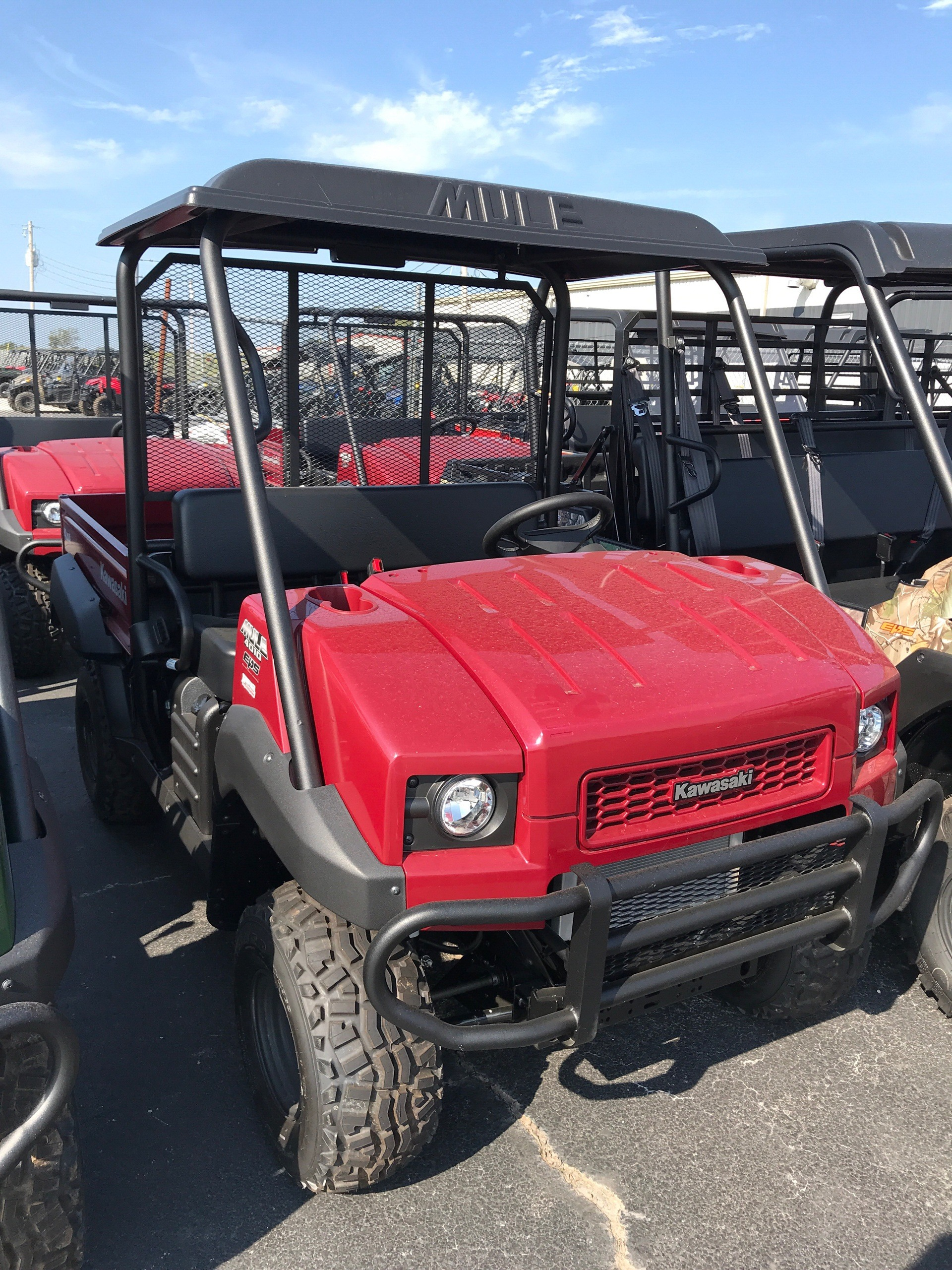2020 Kawasaki Mule 4010 4x4 in Bolivar, Missouri - Photo 1