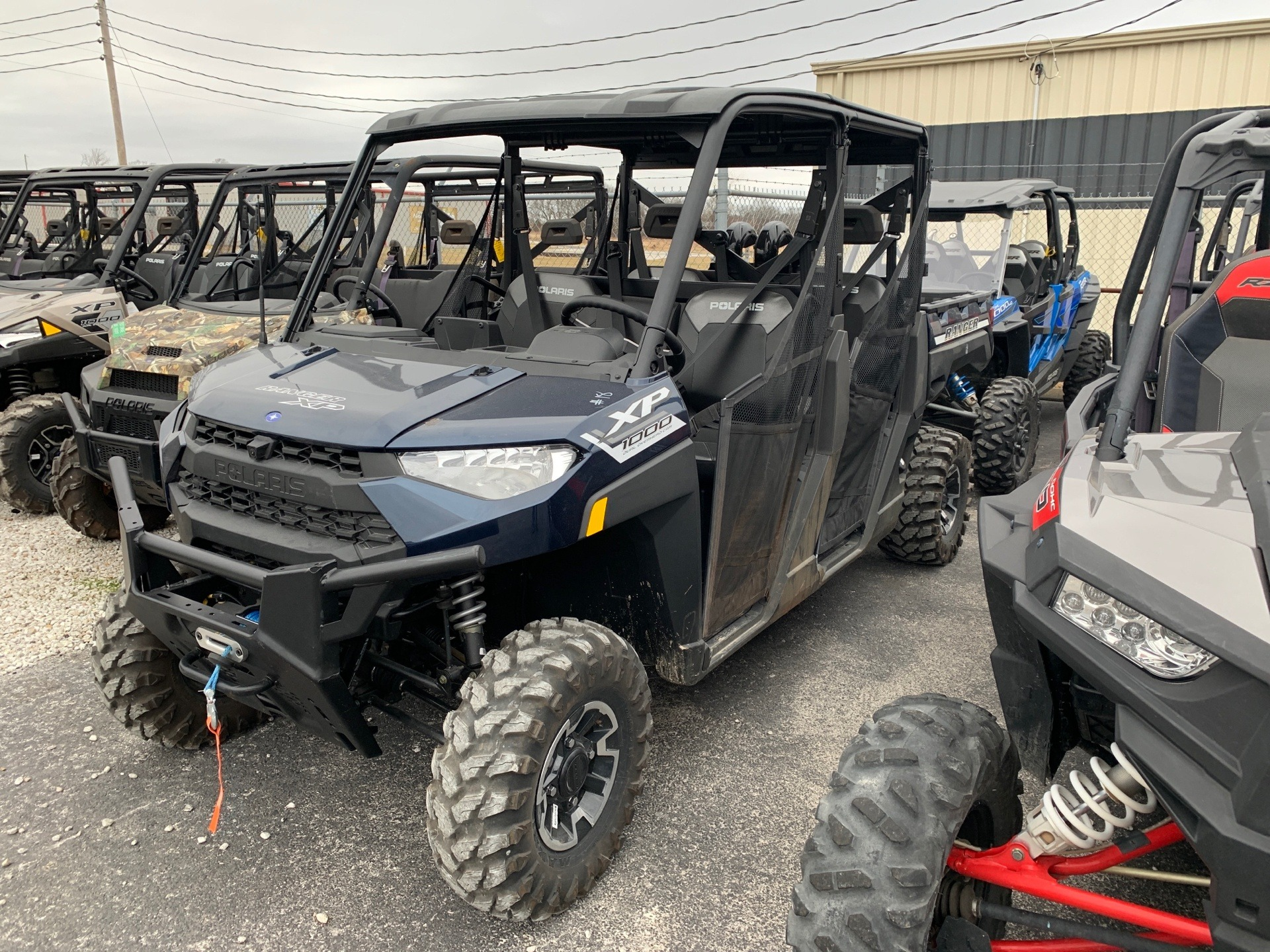 2020 Polaris Ranger Crew XP 1000 Premium Back Country Package in Bolivar, Missouri - Photo 1