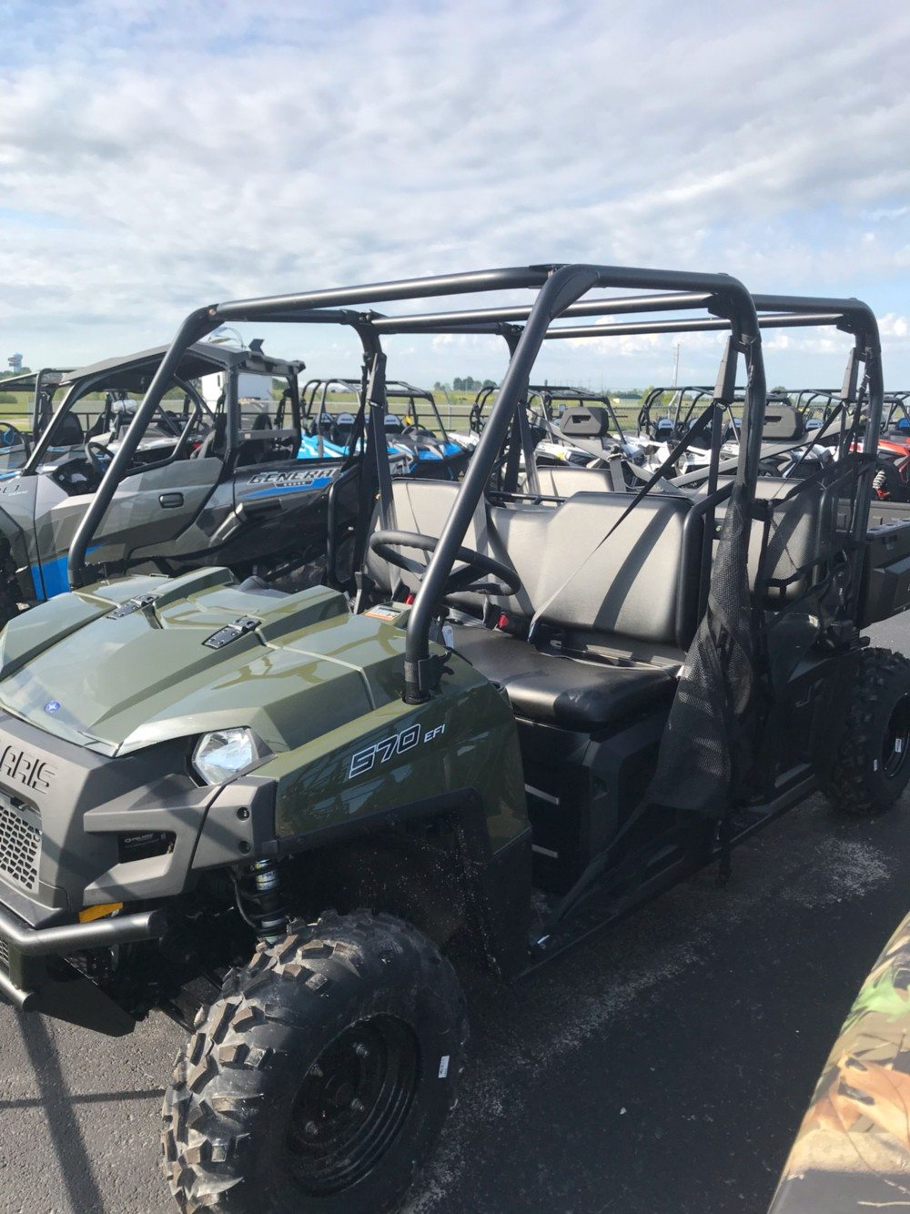2019 Polaris Ranger Crew 570-6 in Bolivar, Missouri - Photo 1