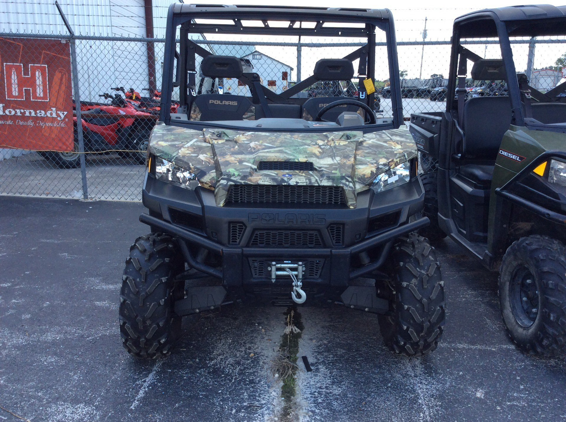 2016 Polaris Ranger XP 900 EPS Hunter Edition in Bolivar, Missouri
