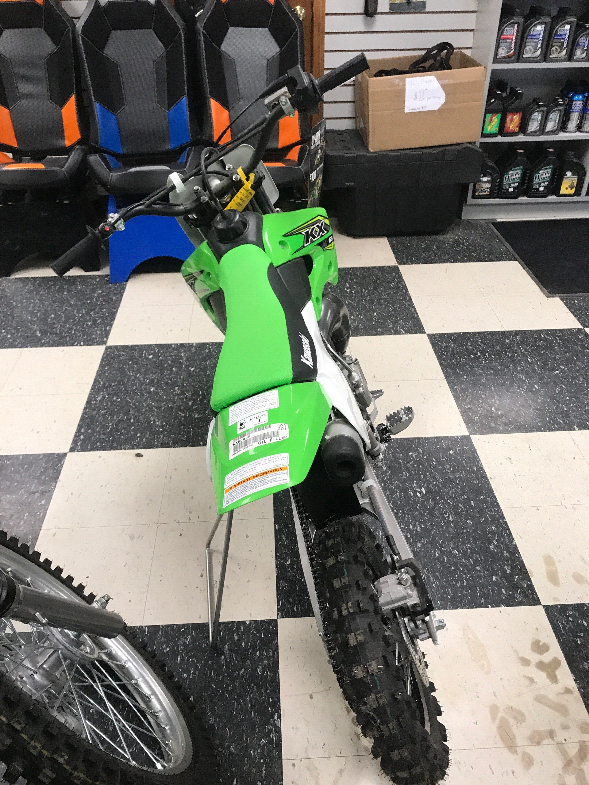 2018 Kawasaki KX 65 in Bolivar, Missouri - Photo 3