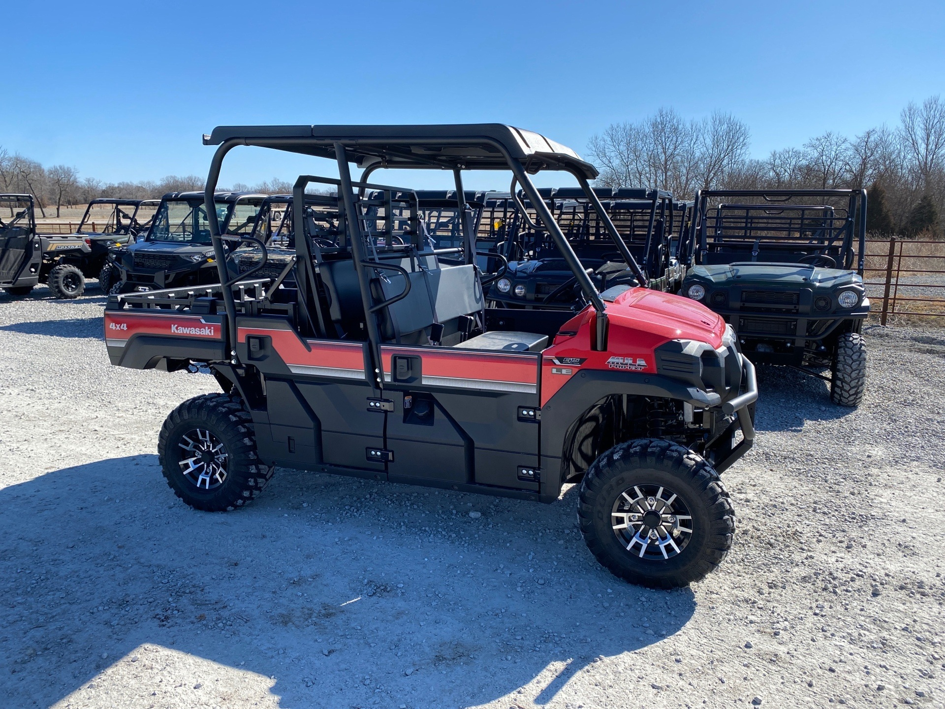 2020 Kawasaki Mule PRO-FXT EPS LE in Bolivar, Missouri - Photo 2