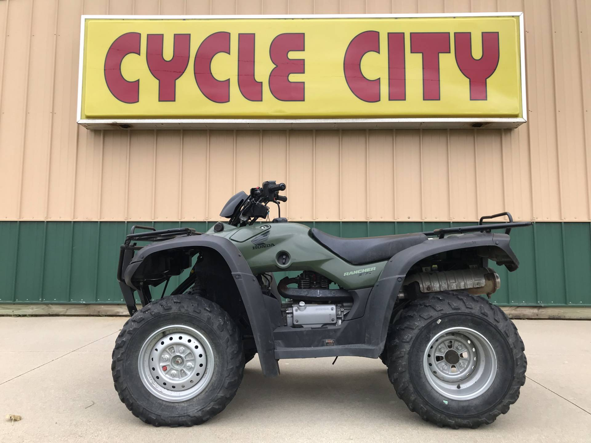 2005 Honda FourTrax® Rancher™ 4X4 ES in Rochester, Minnesota