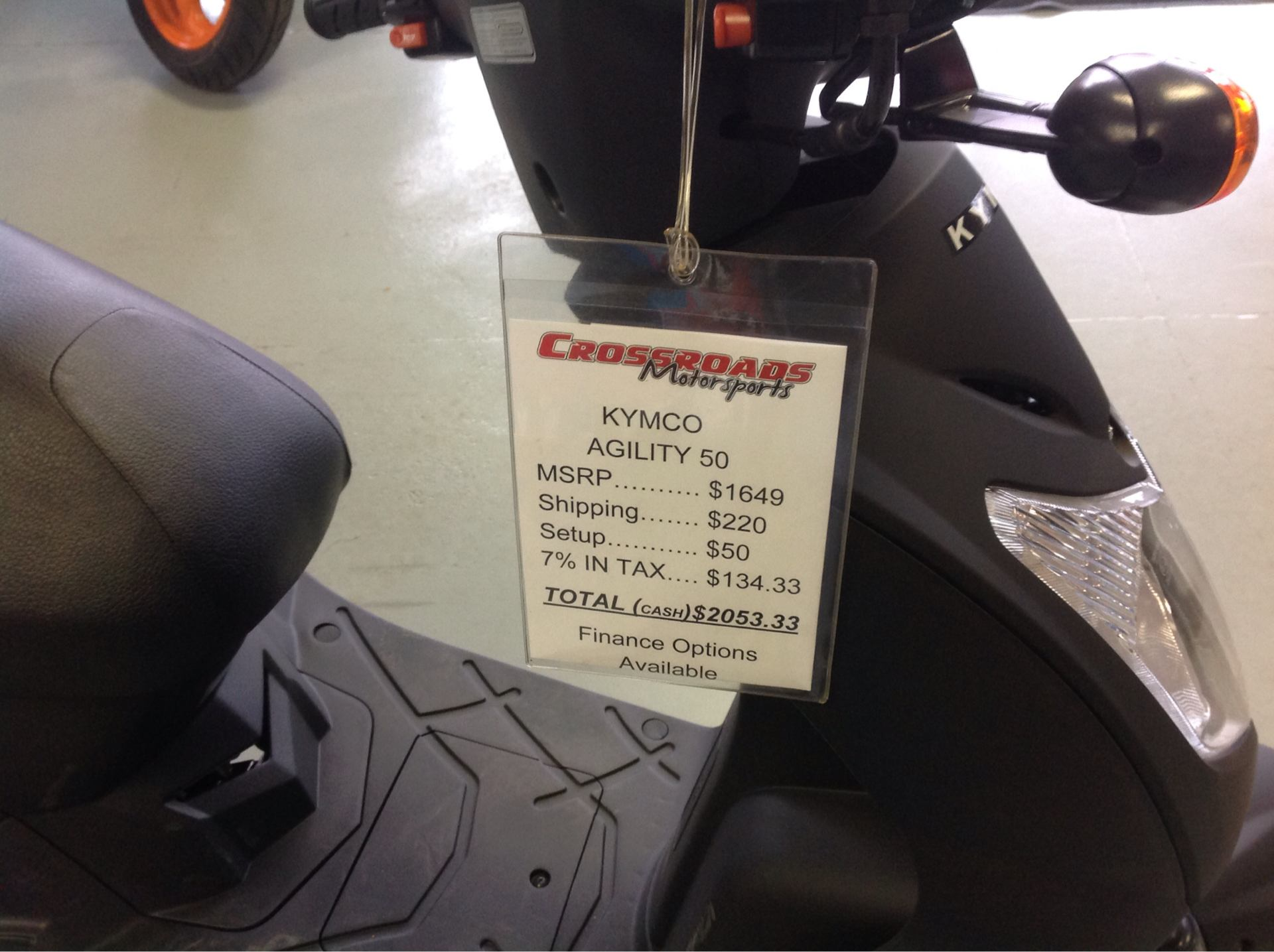 2019 Kymco Agility 50 in Lafayette, Indiana - Photo 5