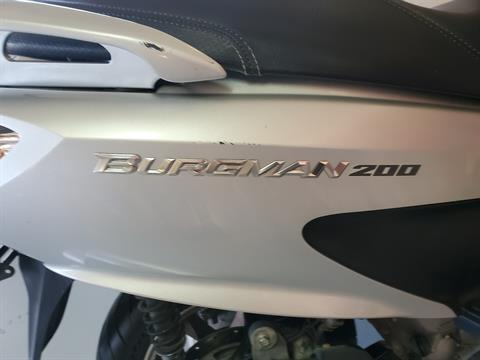 2014 Suzuki Burgman™ 200 ABS in Lafayette, Indiana - Photo 4