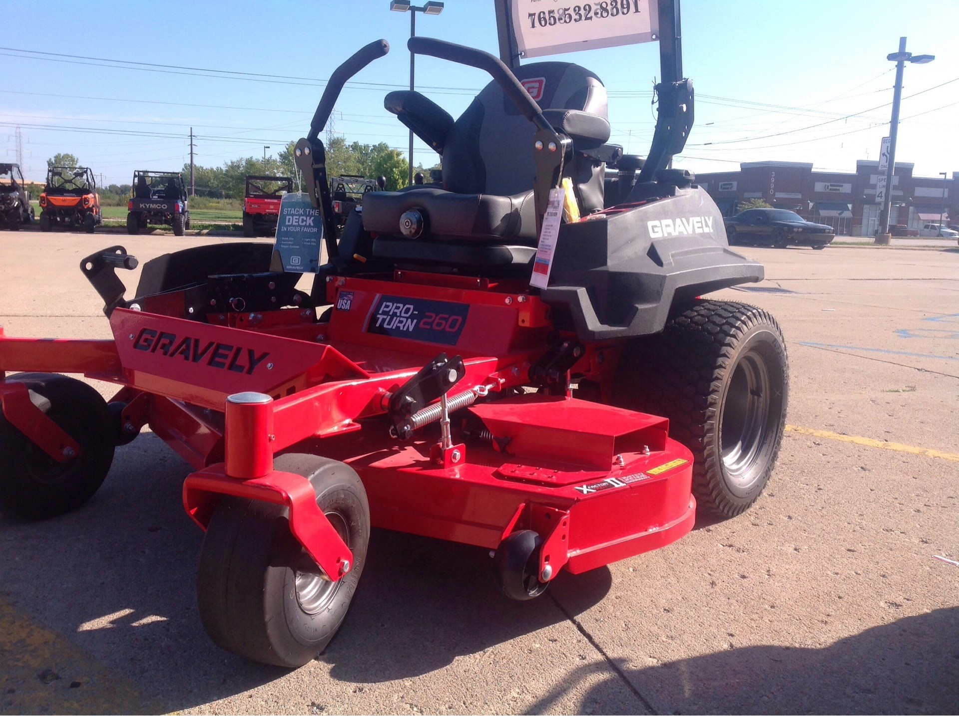 2019 Gravely USA Pro-Turn 260 60 in. Kawasaki FX850V 27 hp in Lafayette, Indiana - Photo 1