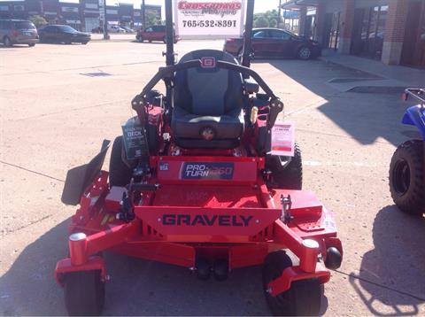 2019 Gravely USA Pro-Turn 260 60 in. Kawasaki FX850V 27 hp in Lafayette, Indiana - Photo 2