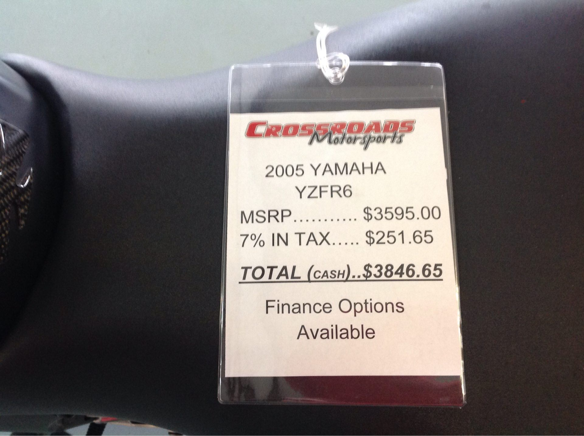 2005 Yamaha YZFR6 7