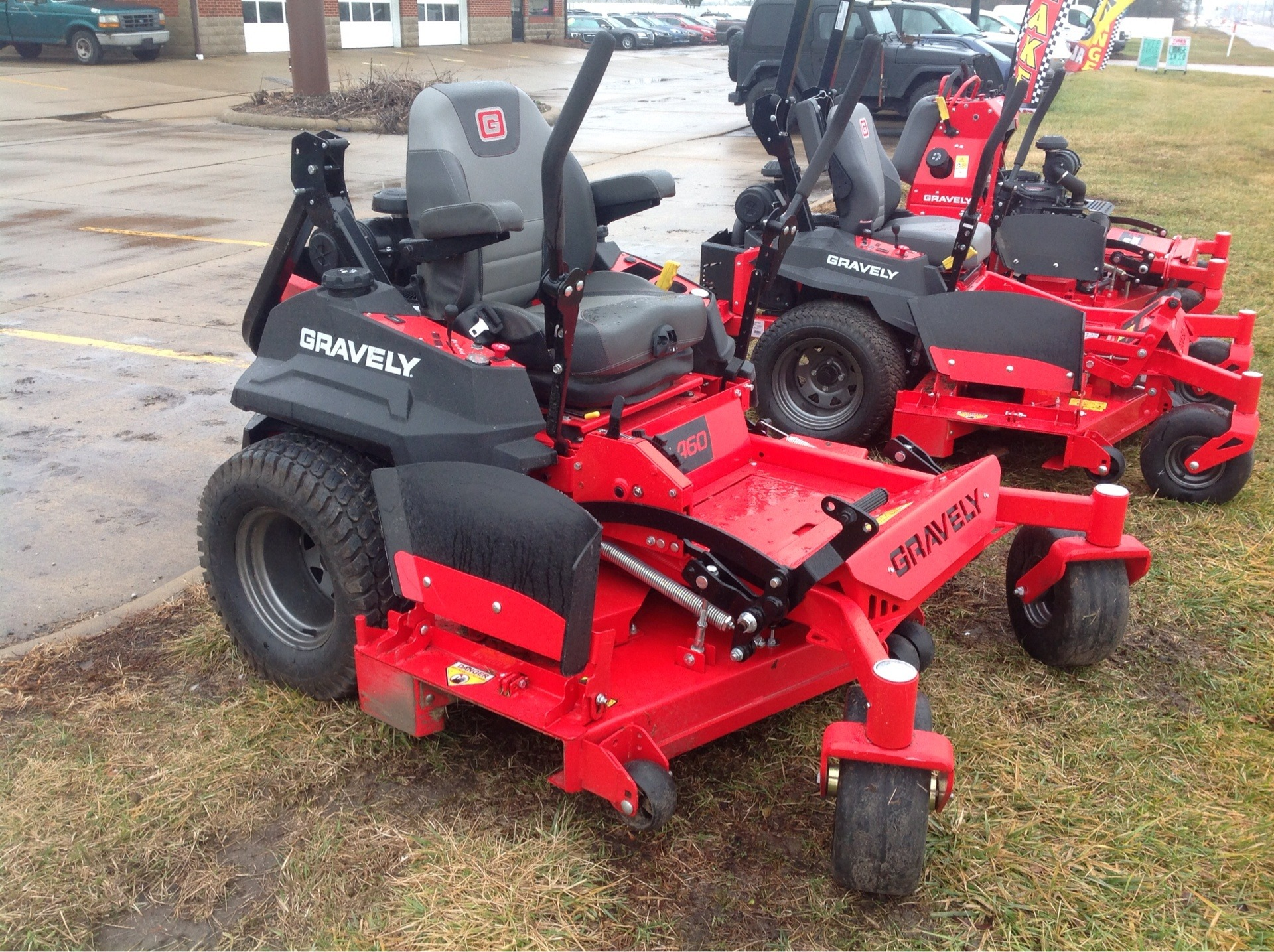 2019 Gravely USA Pro-Turn 460 60 in. Yamaha MX825V EFI 33 hp in Lafayette, Indiana - Photo 2