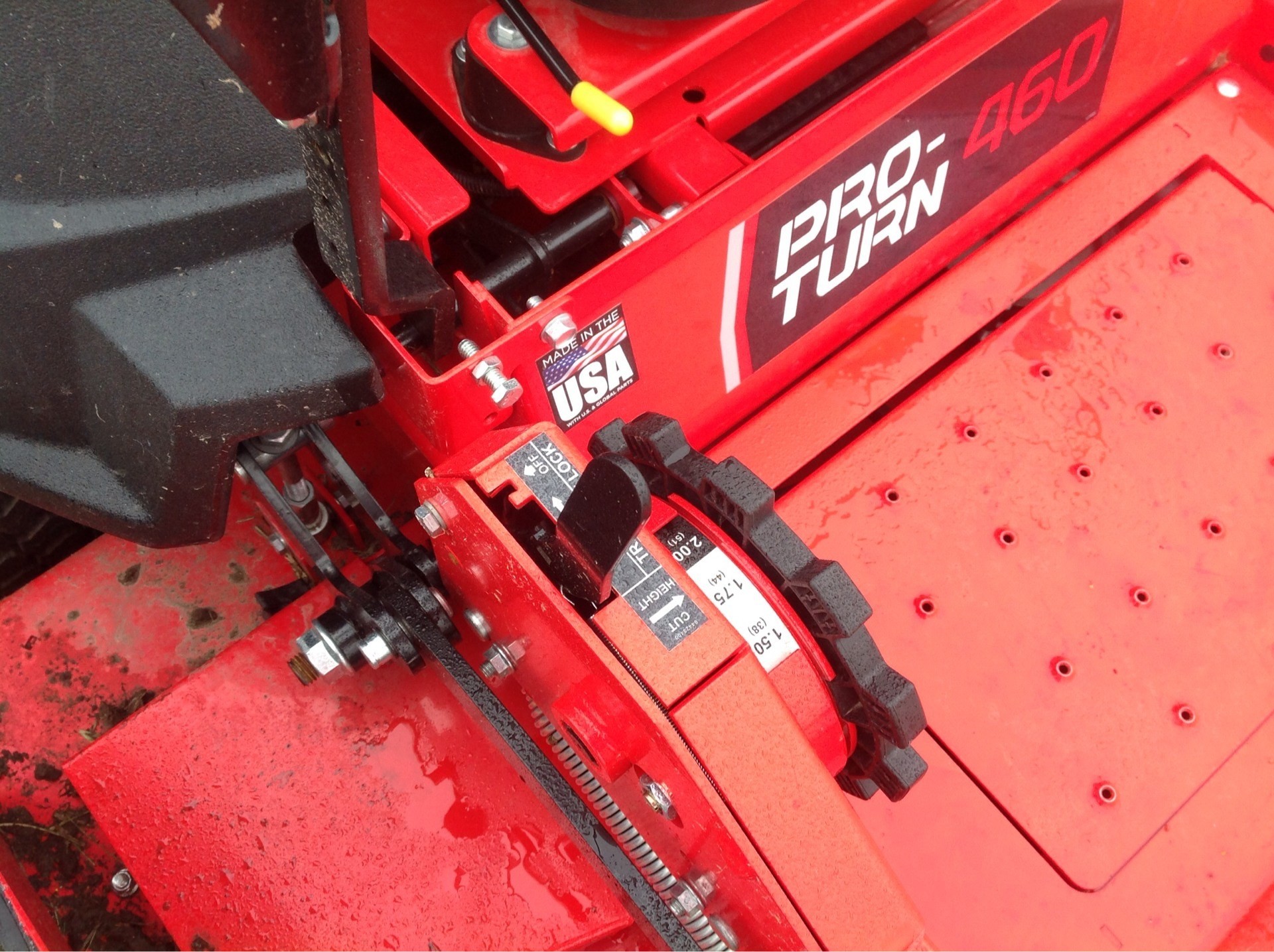 2019 Gravely USA Pro-Turn 460 60 in. Yamaha MX825V EFI 33 hp in Lafayette, Indiana - Photo 7