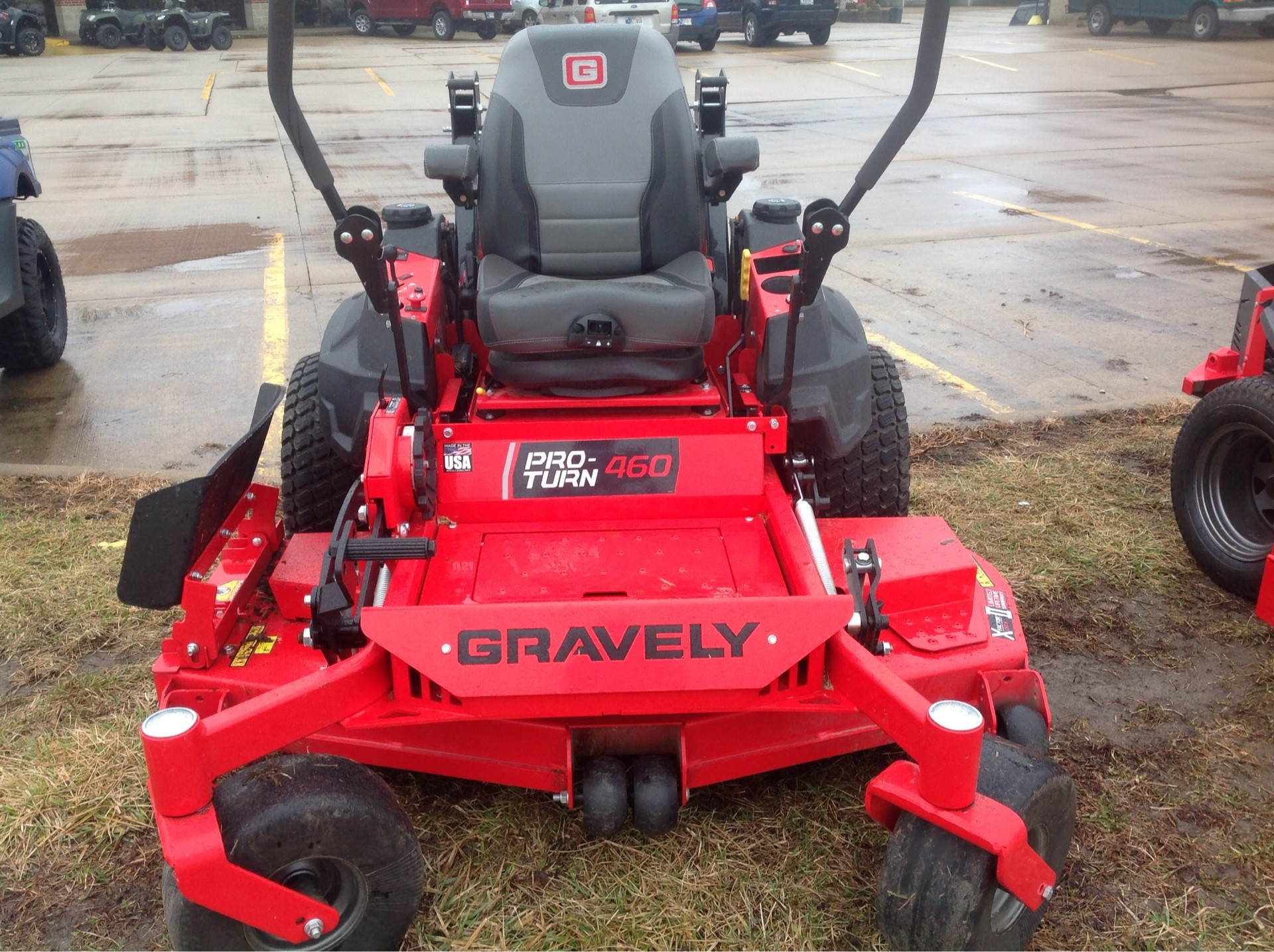 2019 Gravely USA Pro-Turn 460 60 in. Yamaha MX825V EFI 33 hp in Lafayette, Indiana - Photo 8