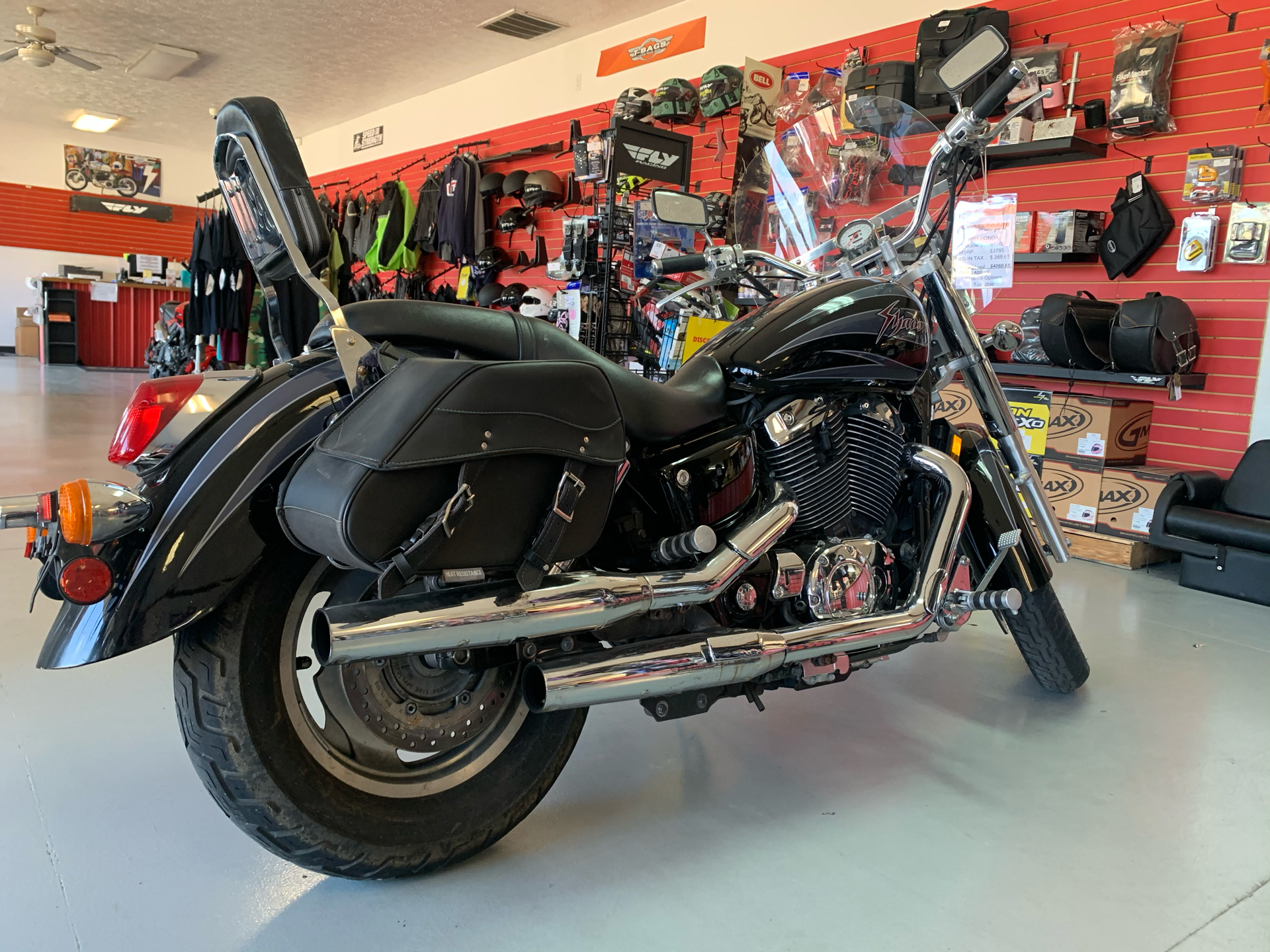 2001 Honda Shadow Sabre in Lafayette, Indiana - Photo 4