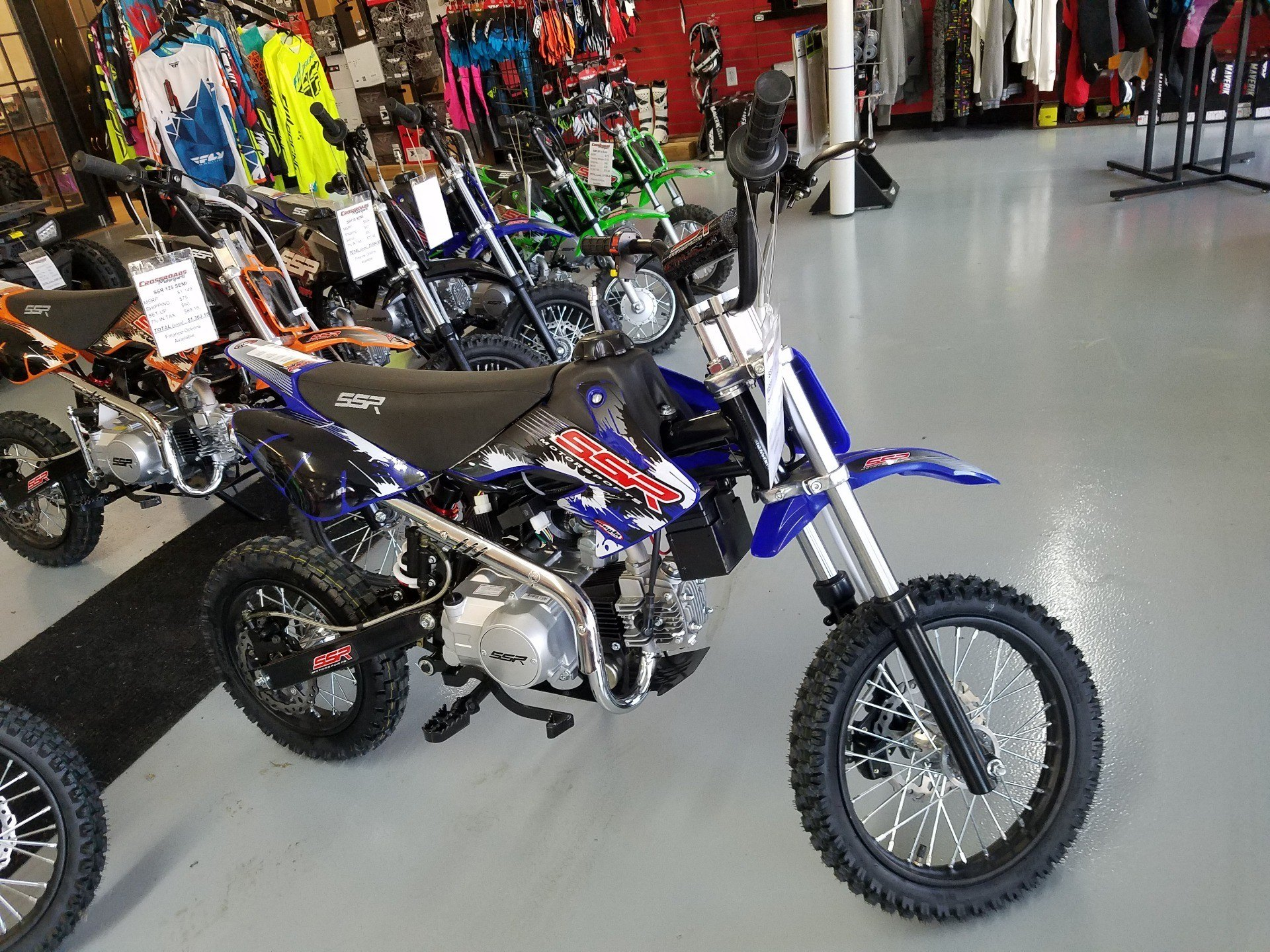 2018 SSR Motorsports SR125 Auto in Lafayette, Indiana - Photo 5