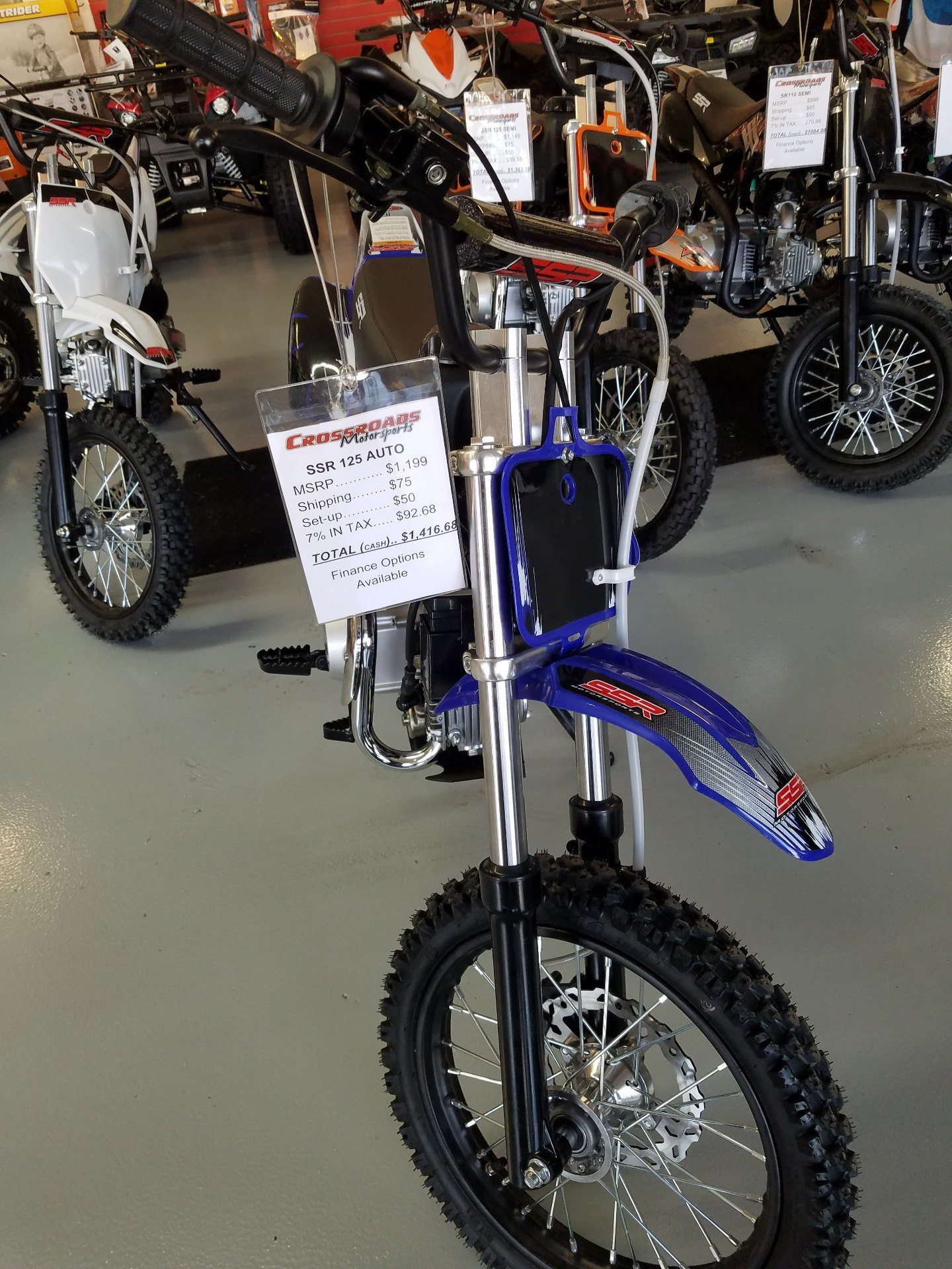 2018 SSR Motorsports SR125 Auto in Lafayette, Indiana - Photo 7