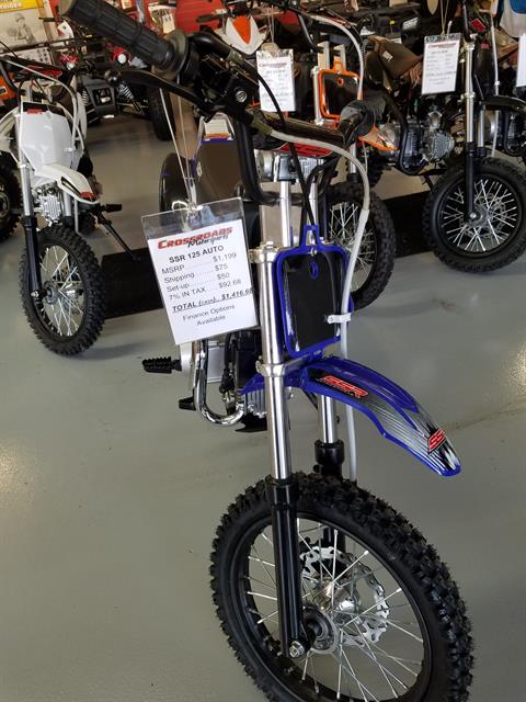 2018 SSR Motorsports SR125 Auto in Lafayette, Indiana