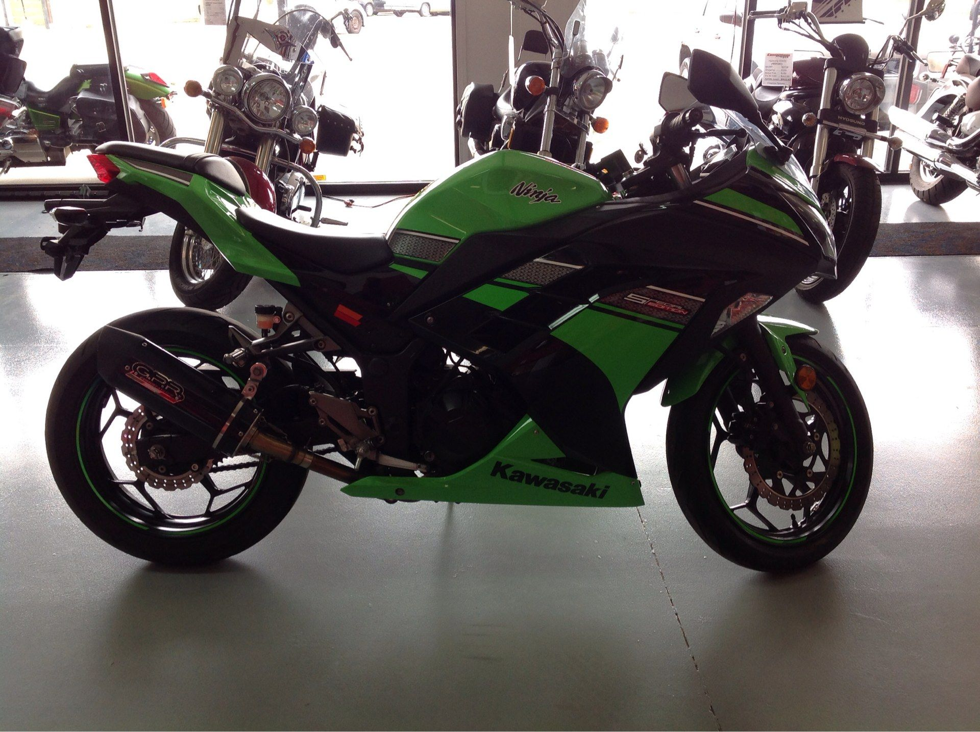 2013 Kawasaki Ninja® 300 in Lafayette, Indiana - Photo 3