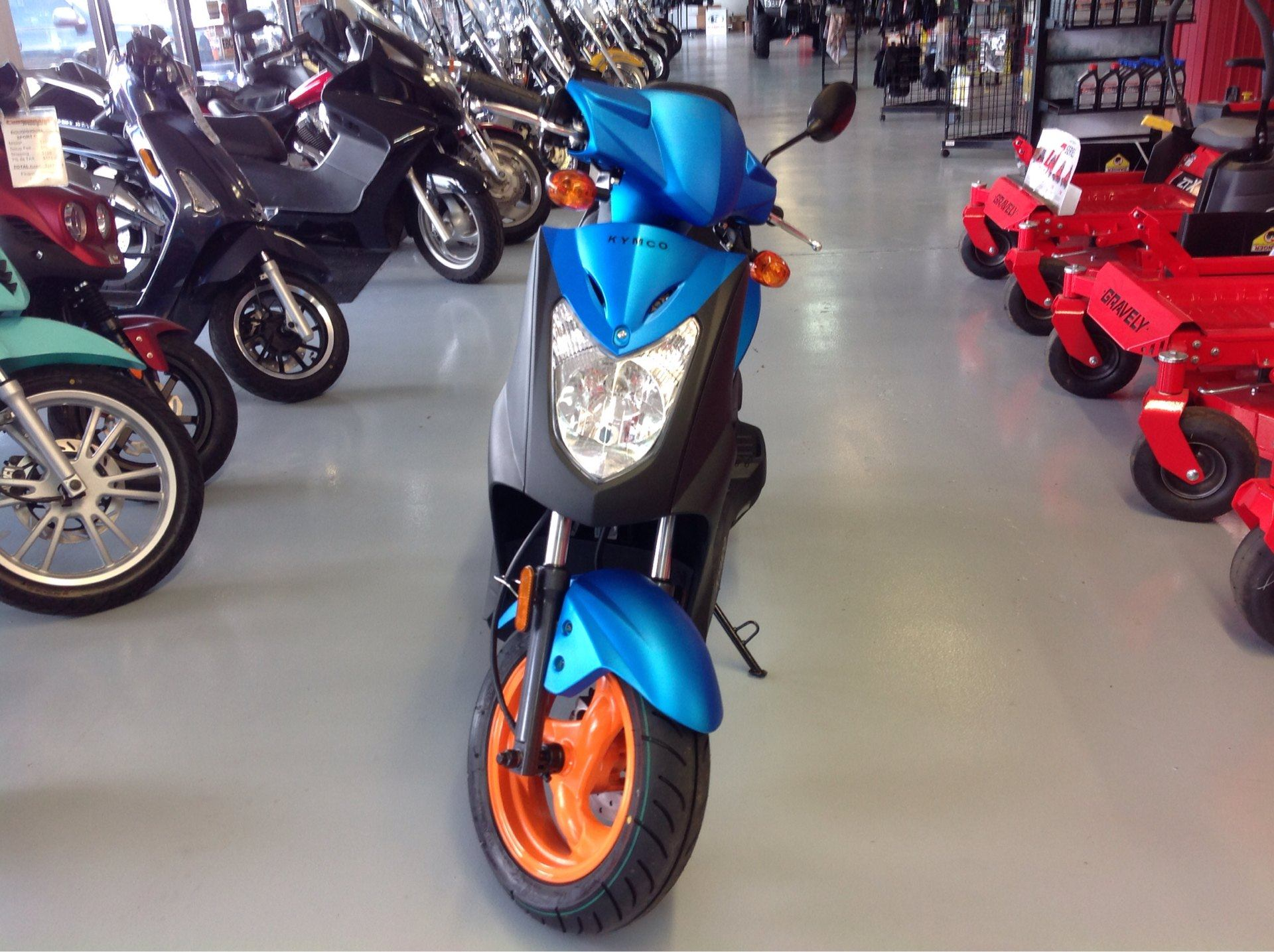 2019 Kymco Agility 50 in Lafayette, Indiana - Photo 2