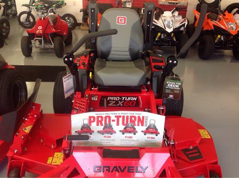 2019 Gravely USA Pro-Turn ZX 60 in. Kawasaki FX730V 23.5 hp in Lafayette, Indiana - Photo 2