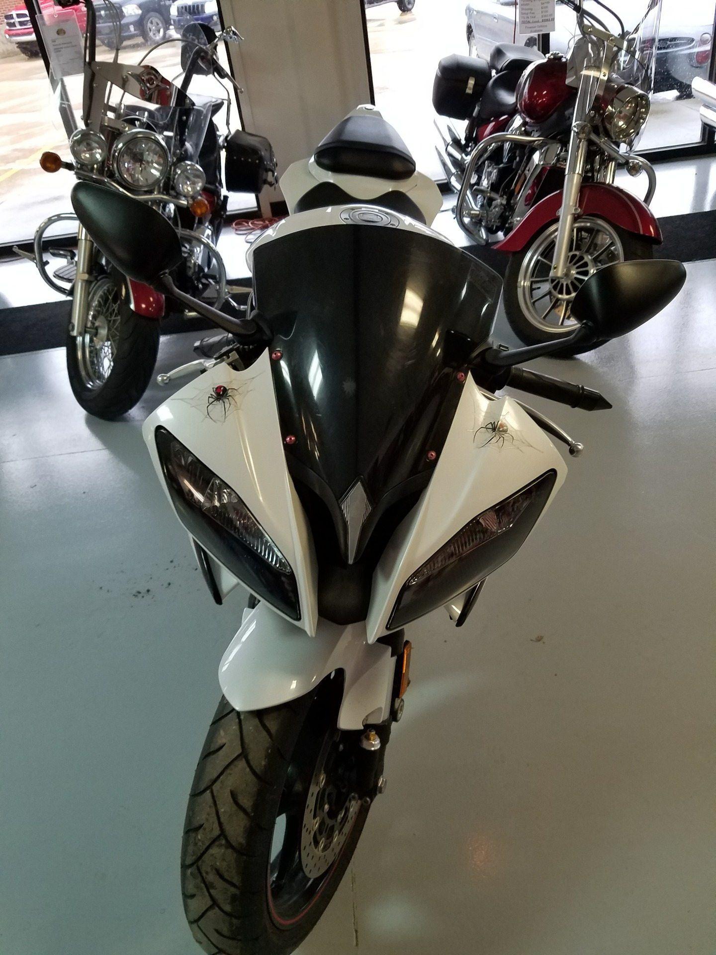 2012 Yamaha YZF-R6 2