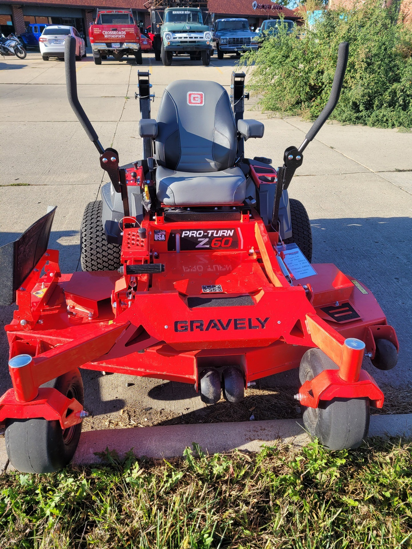 2020 Gravely USA Pro-Turn Z 60 in. Gravely 764 Pro 26.5 hp in Lafayette, Indiana - Photo 7