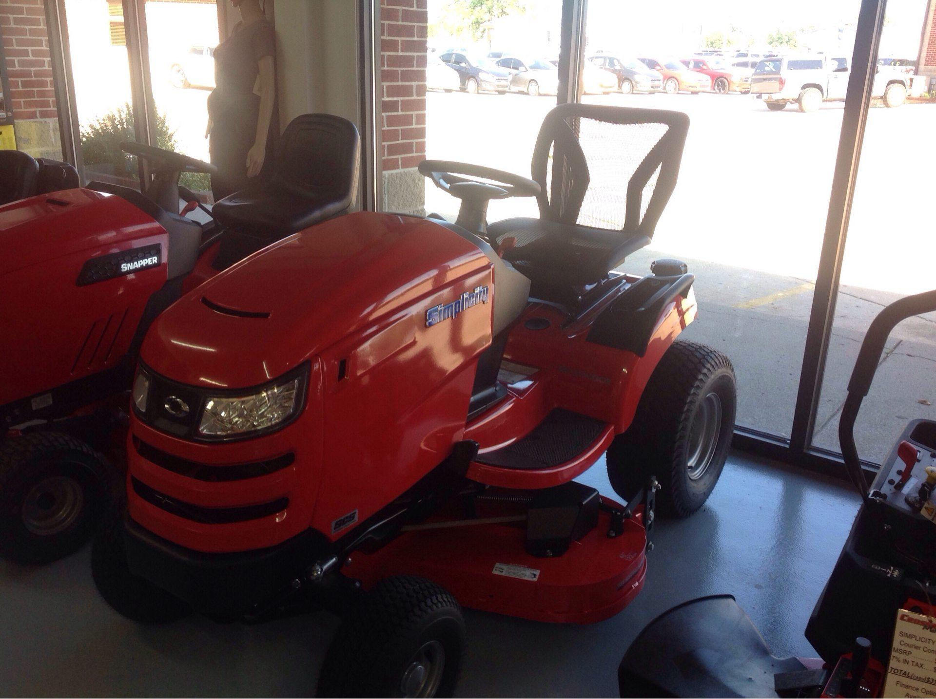 2019 Simplicity Broadmoor 48 in. Briggs & Stratton 25 hp in Lafayette, Indiana - Photo 1