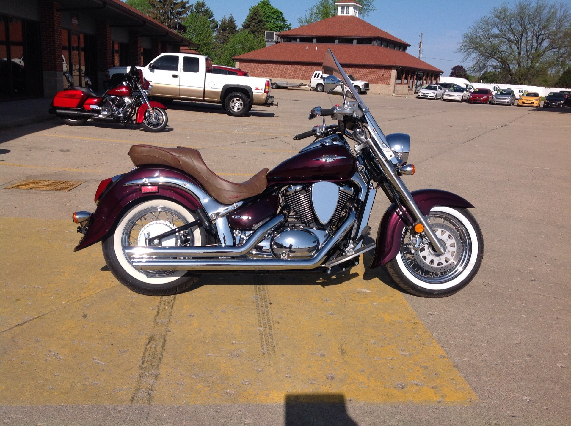 2009 Suzuki Boulevard C50 in Lafayette, Indiana - Photo 1