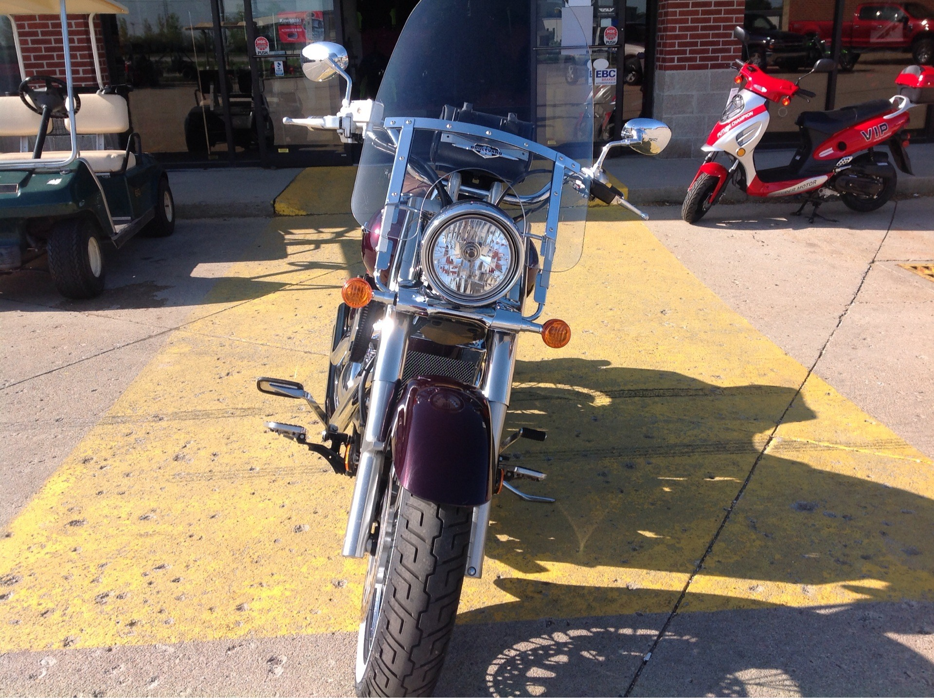 2009 Suzuki Boulevard C50 in Lafayette, Indiana - Photo 2