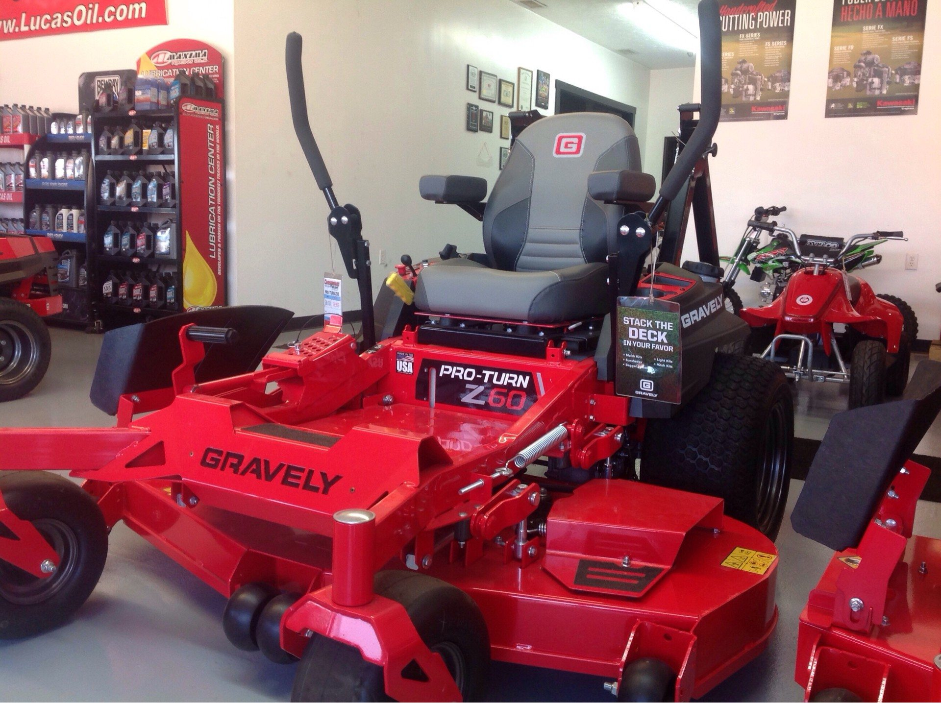 2019 Gravely USA Pro-Turn Z 60 in. Gravely 26.5 hp in Lafayette, Indiana - Photo 1