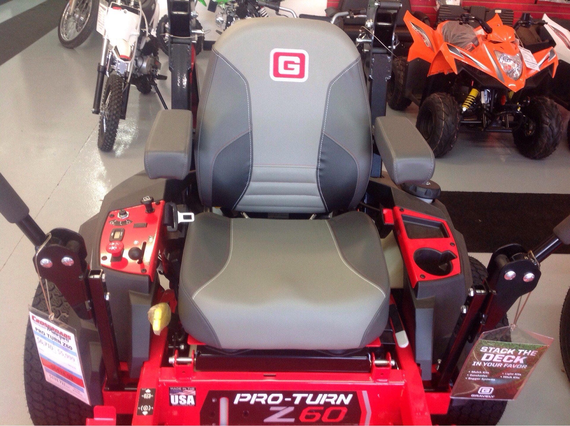 2019 Gravely USA Pro-Turn Z 60 in. Gravely 26.5 hp in Lafayette, Indiana - Photo 3