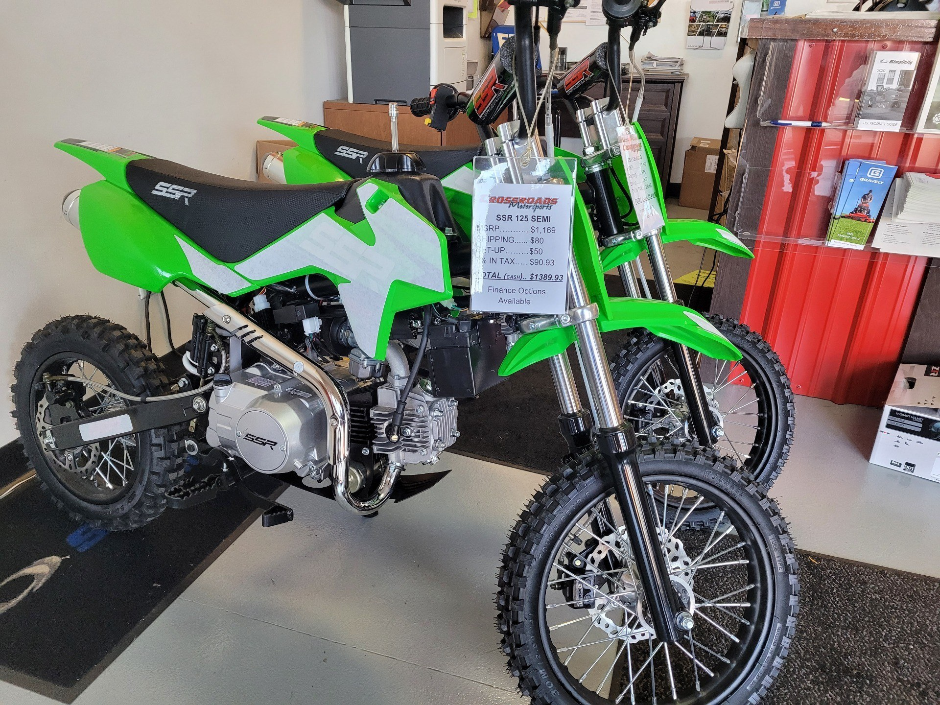 2021 SSR Motorsports SR125 Auto in Lafayette, Indiana - Photo 1